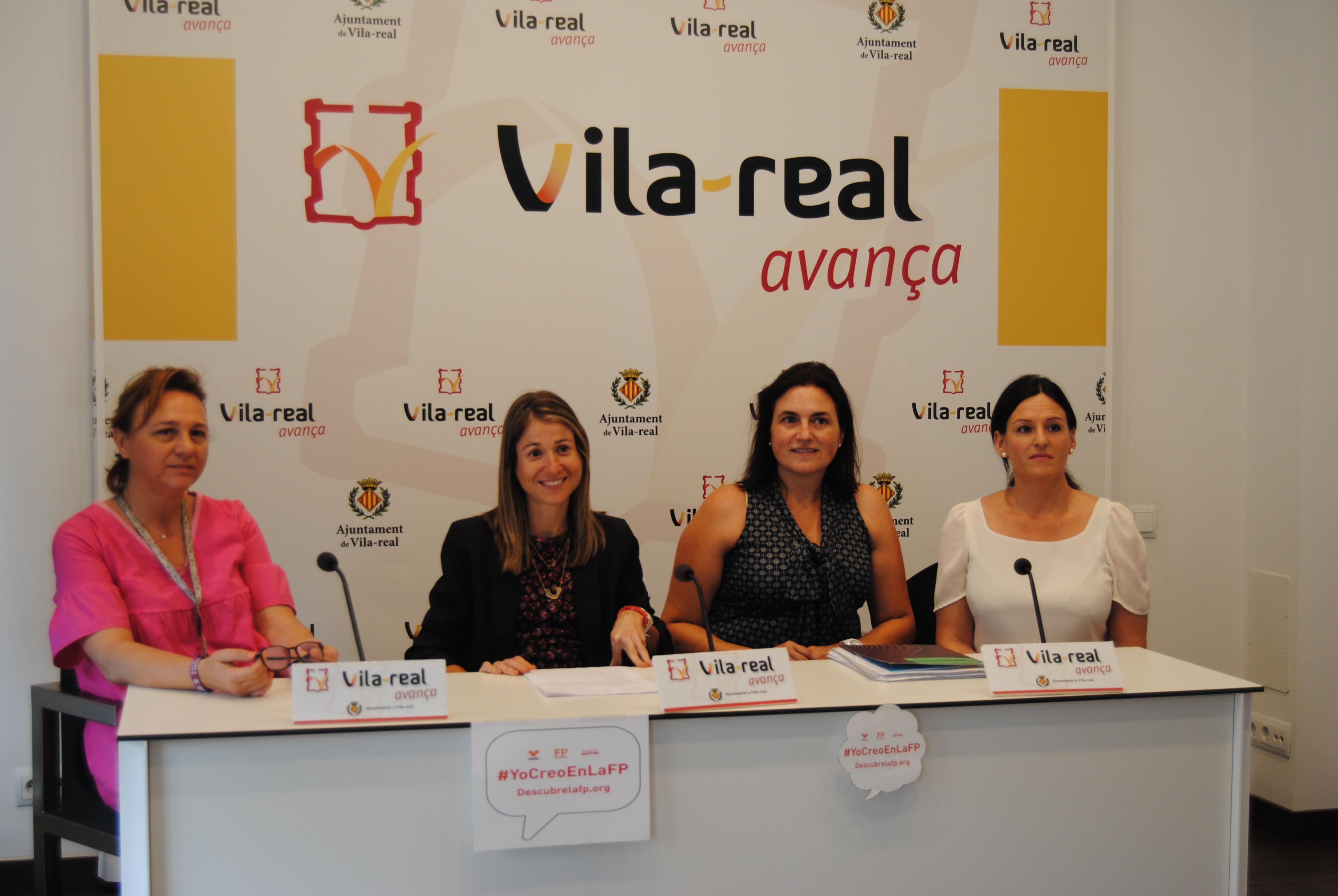 Vila-real pone en valor la FP en la Semana Europea de esta formación.