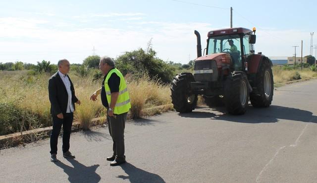 Vila-real ultima la contratación de obras en caminos rurales por 500.000 euros.