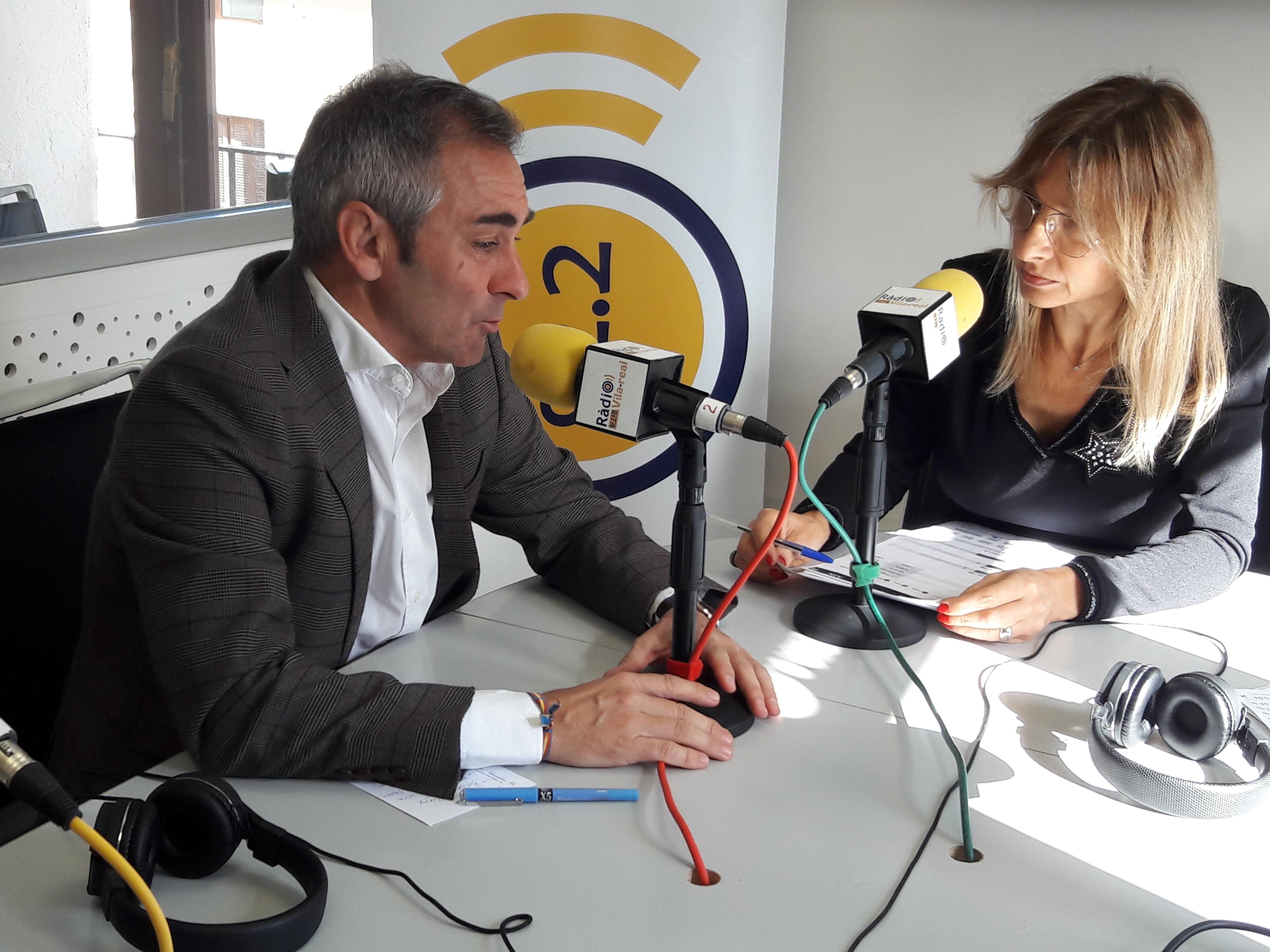 Entrevista con el líder del PP de Castellón y diputado autonómico, Miguel Barrachina. 13 de noviembre del 2019