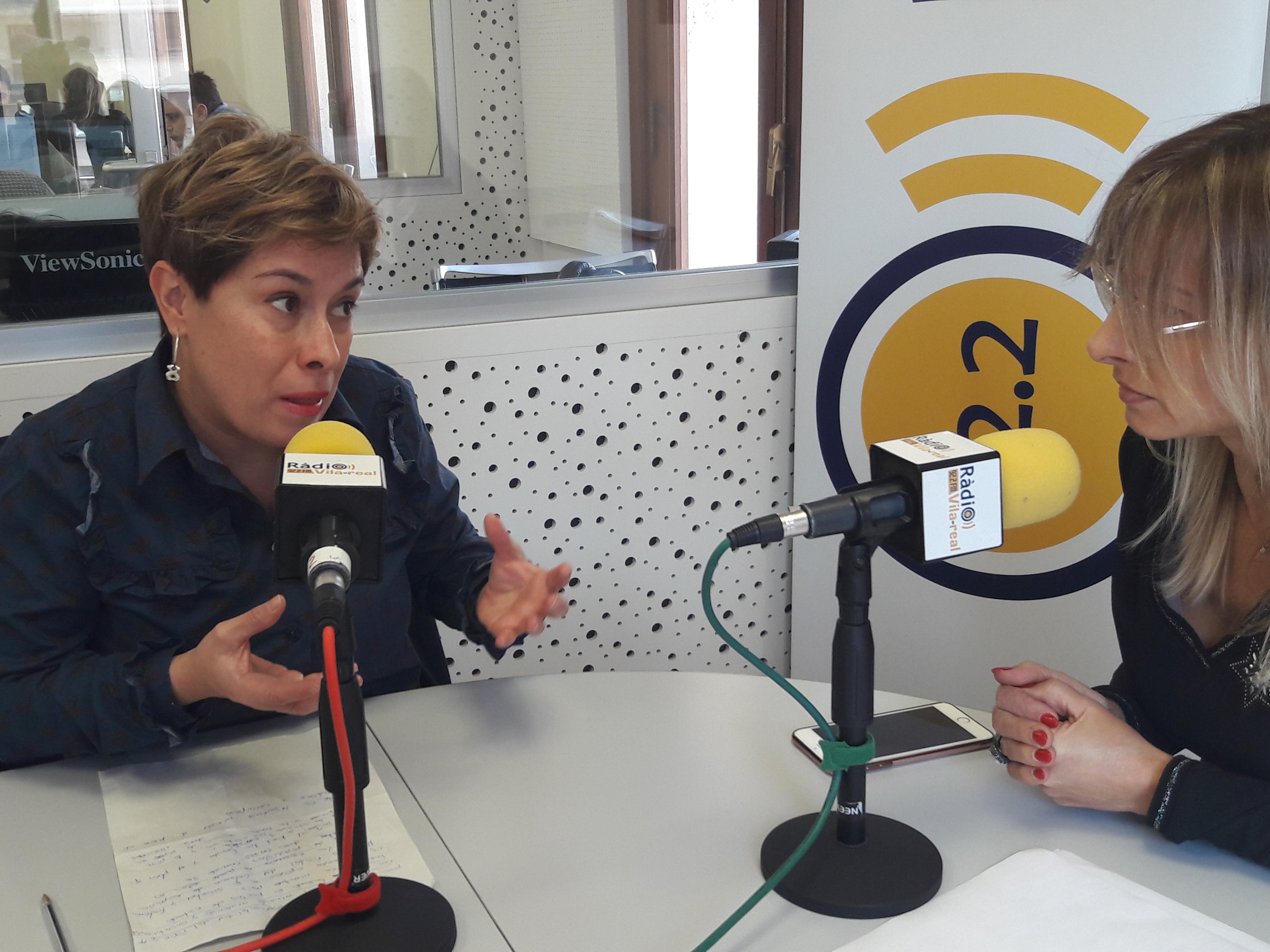 Entrevista a la portavoz de C's en Castellón y diputada autonómica, Merche Ventura. 13 de noviembre del 2019