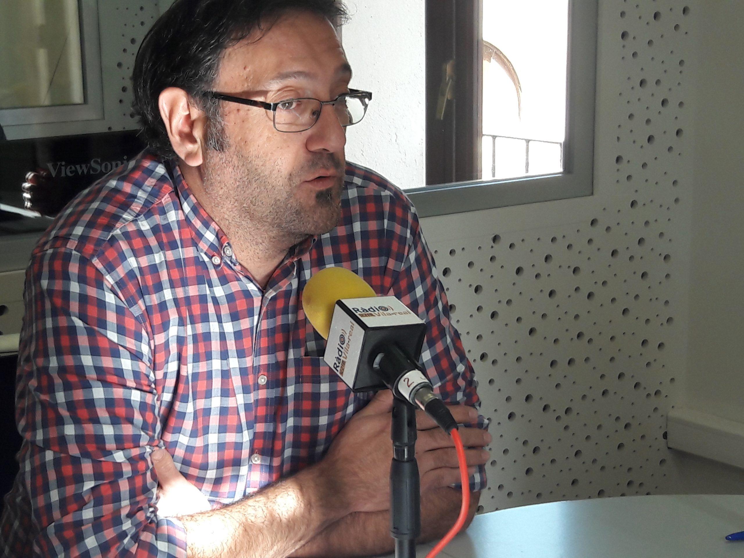 Entrevista Ferran Daròs, segundo teniente de alcalde y edil de Compromís en la Vall d'Uixó