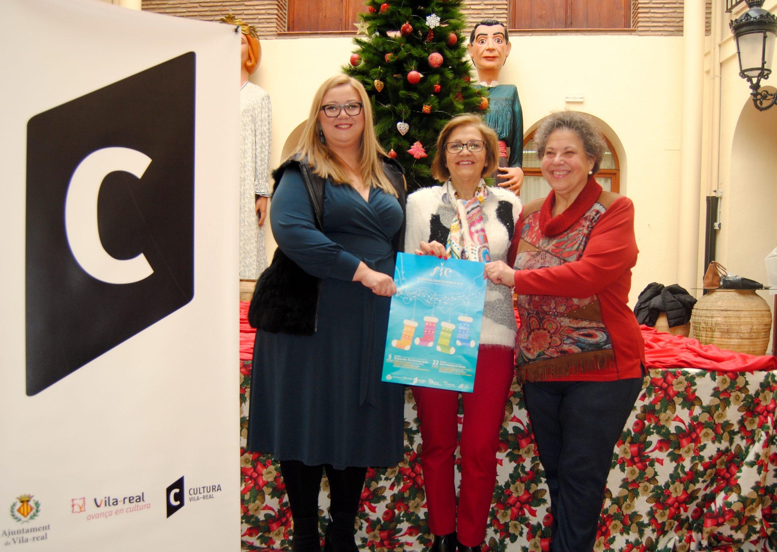 El VII Festival Coral de Nadales llenará Vila-real de música y espíritu navideño.