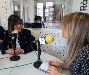 Entrevista Marta Sorlí, cabeza lista de Més Compromís Castellón al Congreso. 07 de noviembre del 2019