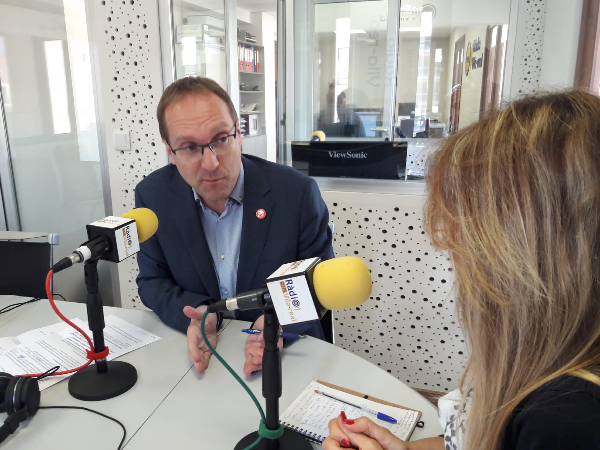 Entrevista con el secretario general del PSPV-PSOE en Castellón, Ernest Blanch