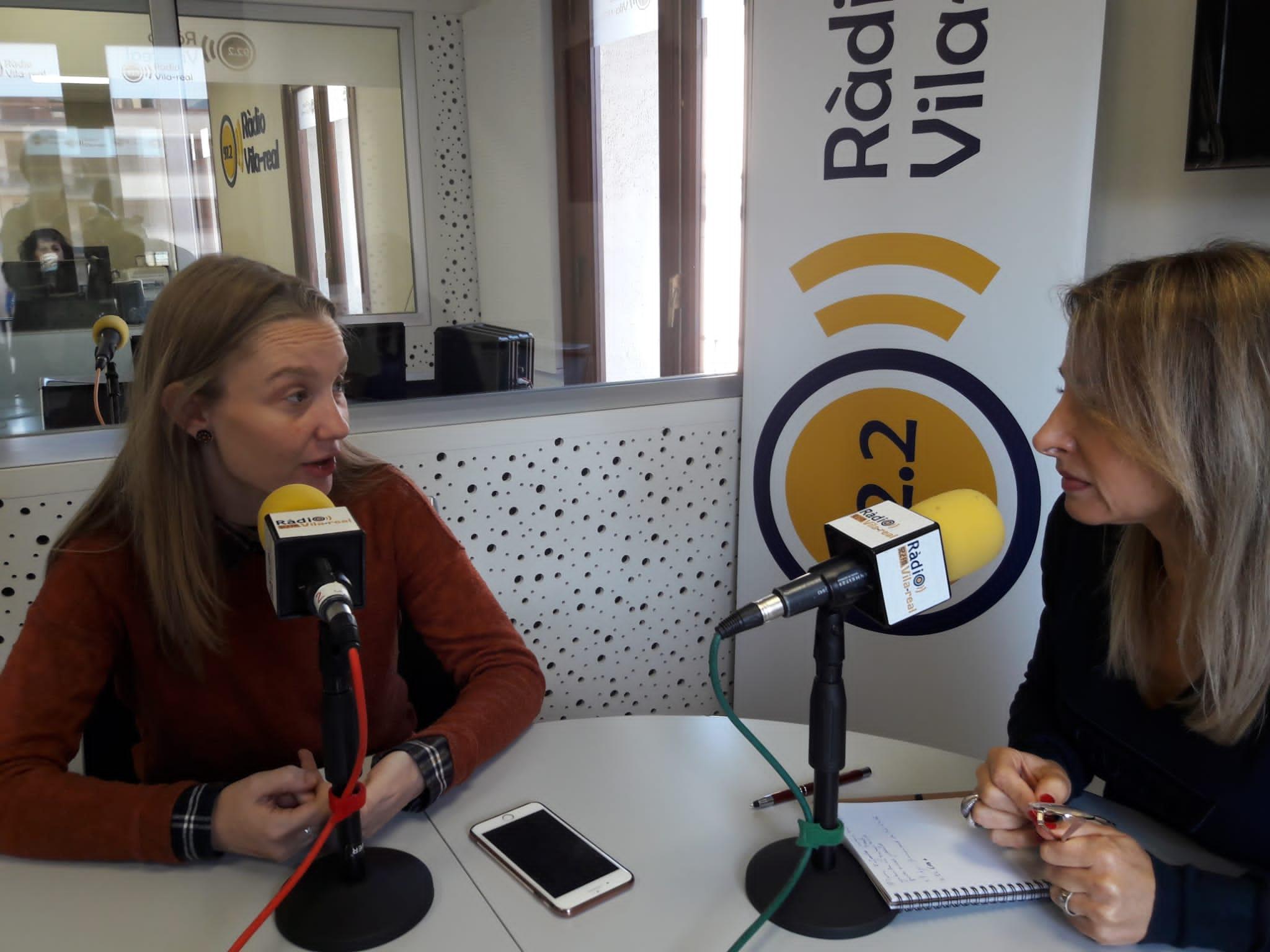 Entrevista con la edil de Compromís Vila-real, María Fajardo. 26-11-19