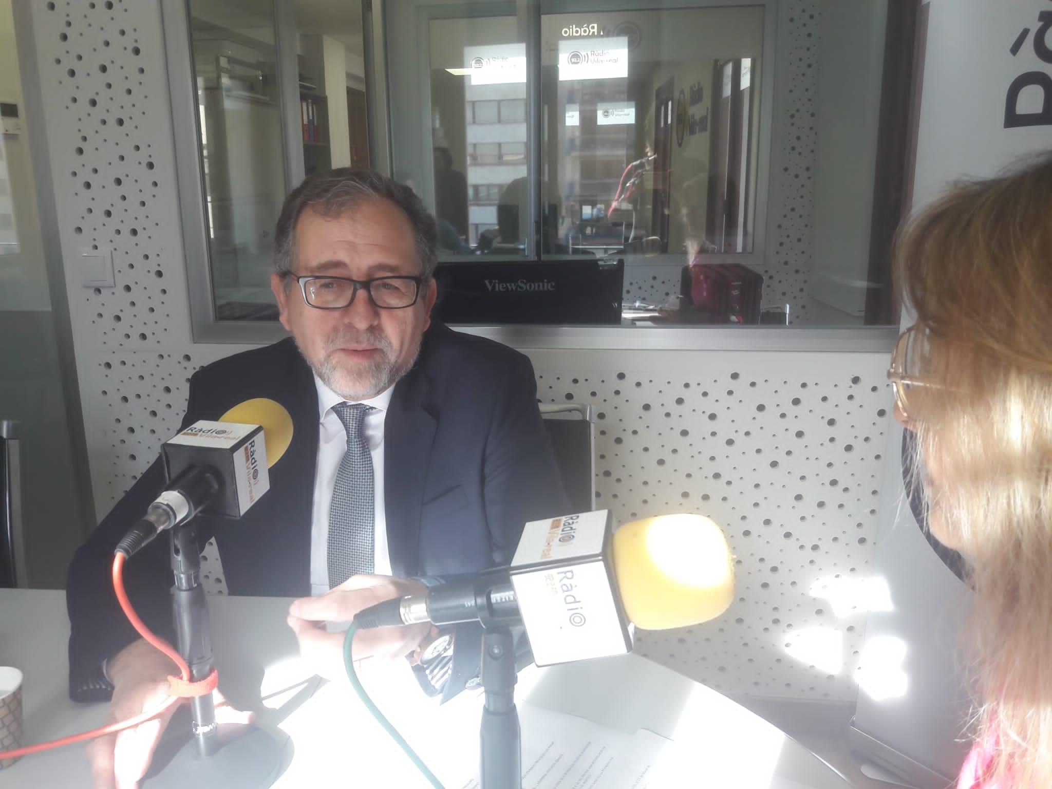 Entrevista con el presidente de la Diputación de Castellón, José Martí