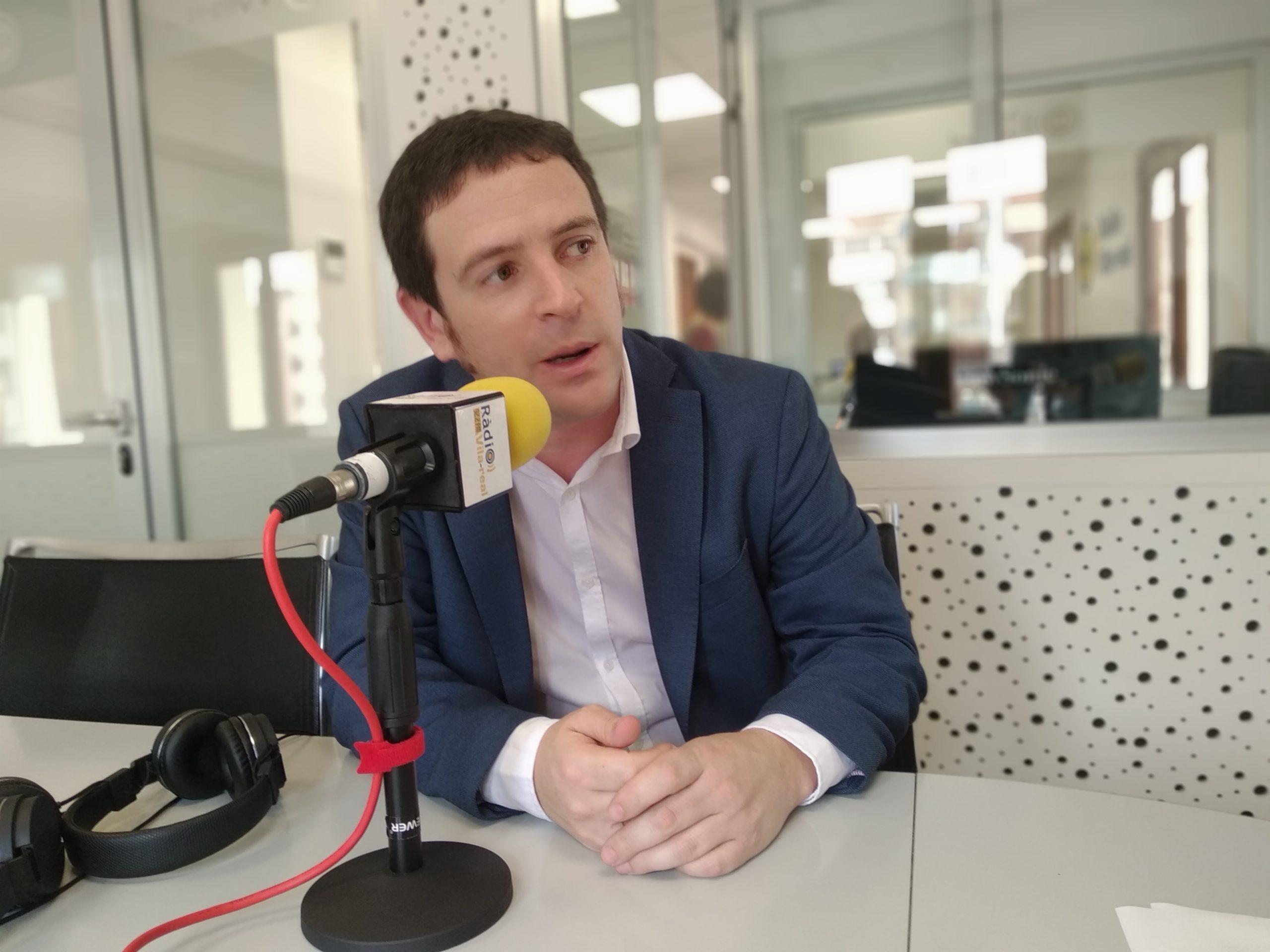 Entrevista con el diputado provincial y edil de Compromís en Castelló, Ignasi Garcia. 27-11-19
