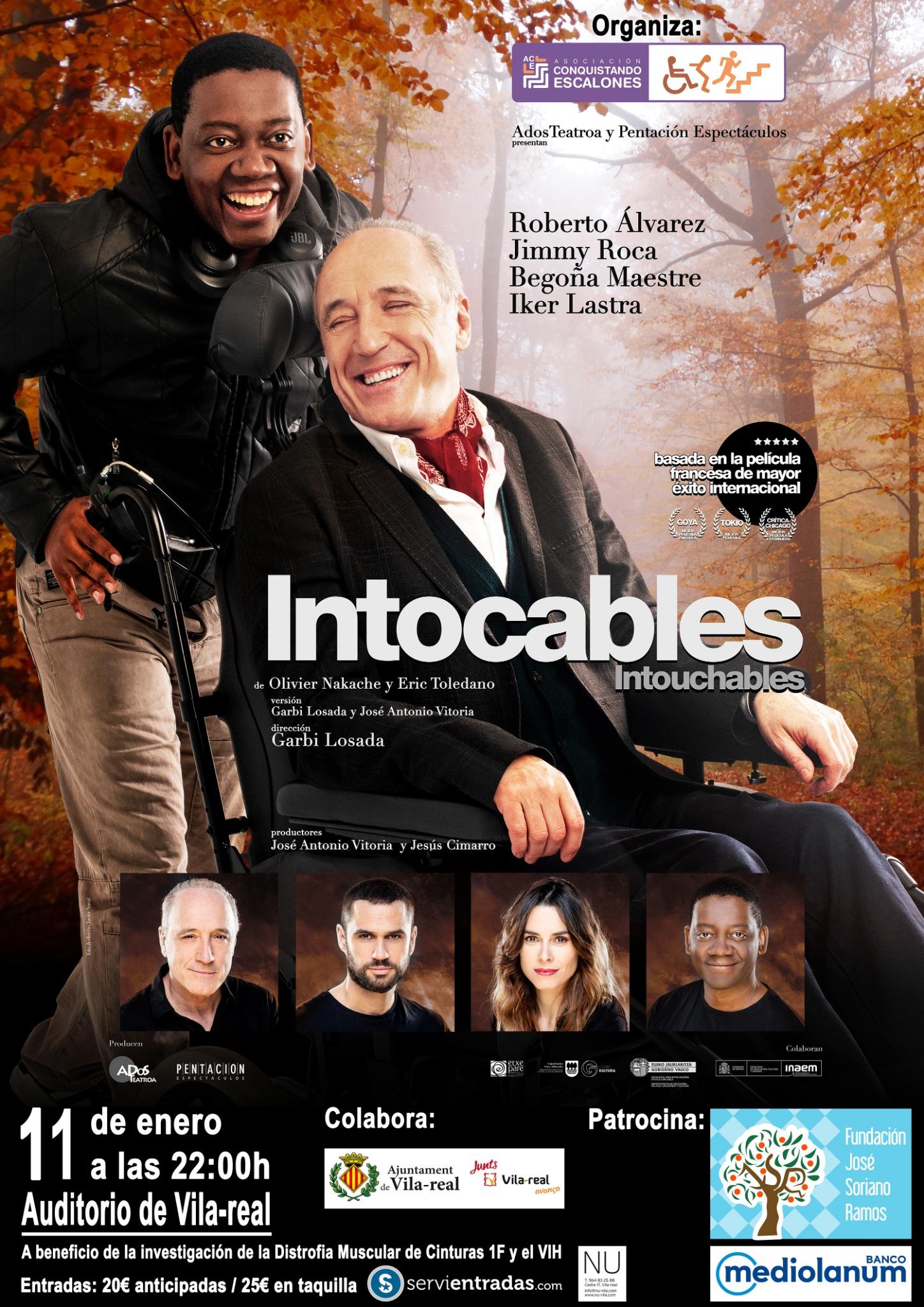 'Intocables' llega a Vila-real de la mano de Conquistando Escalones.