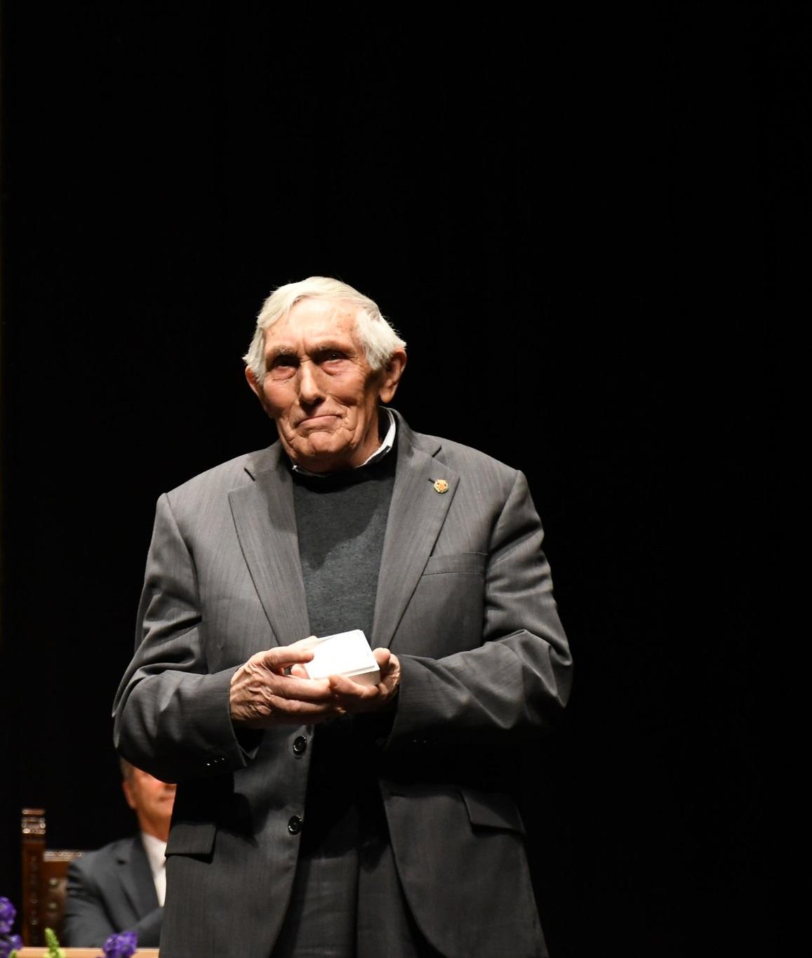 Vila-real lamenta la defunción de Leandre Adsuara, premio 20 de Febrer 2019.