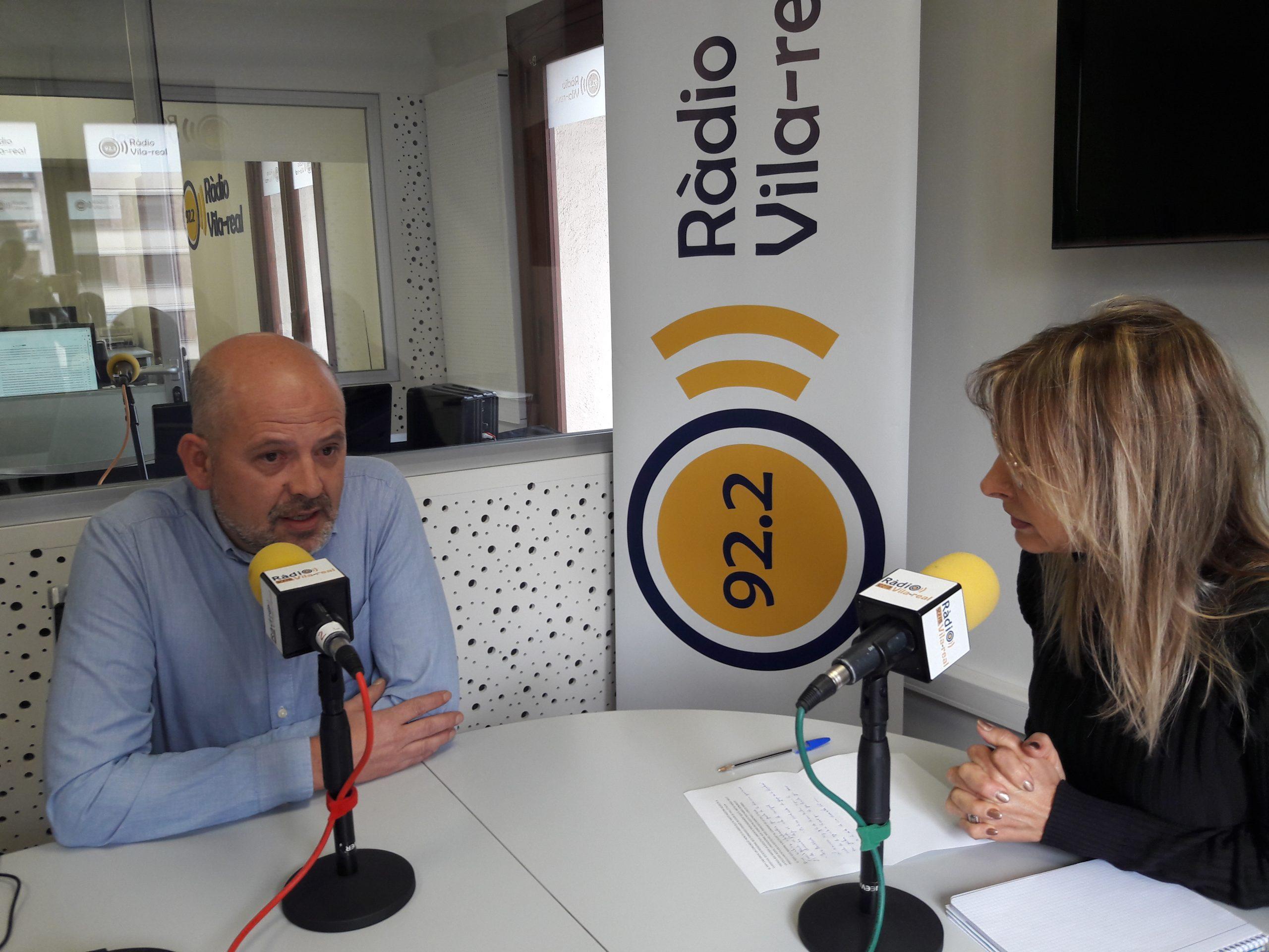 Entrevista con Fernando Grande tras la dimisión de la Ejecutiva local del PSPV-PSOE en Vall d'Alba