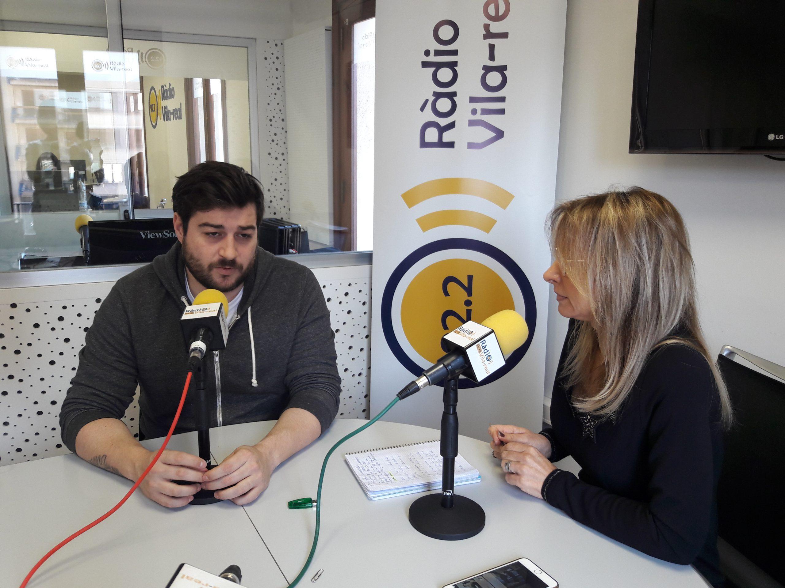 Entrevista al portavoz del PSPV-PSOE en el ayuntamiento de Nules, Adrián Sorribes