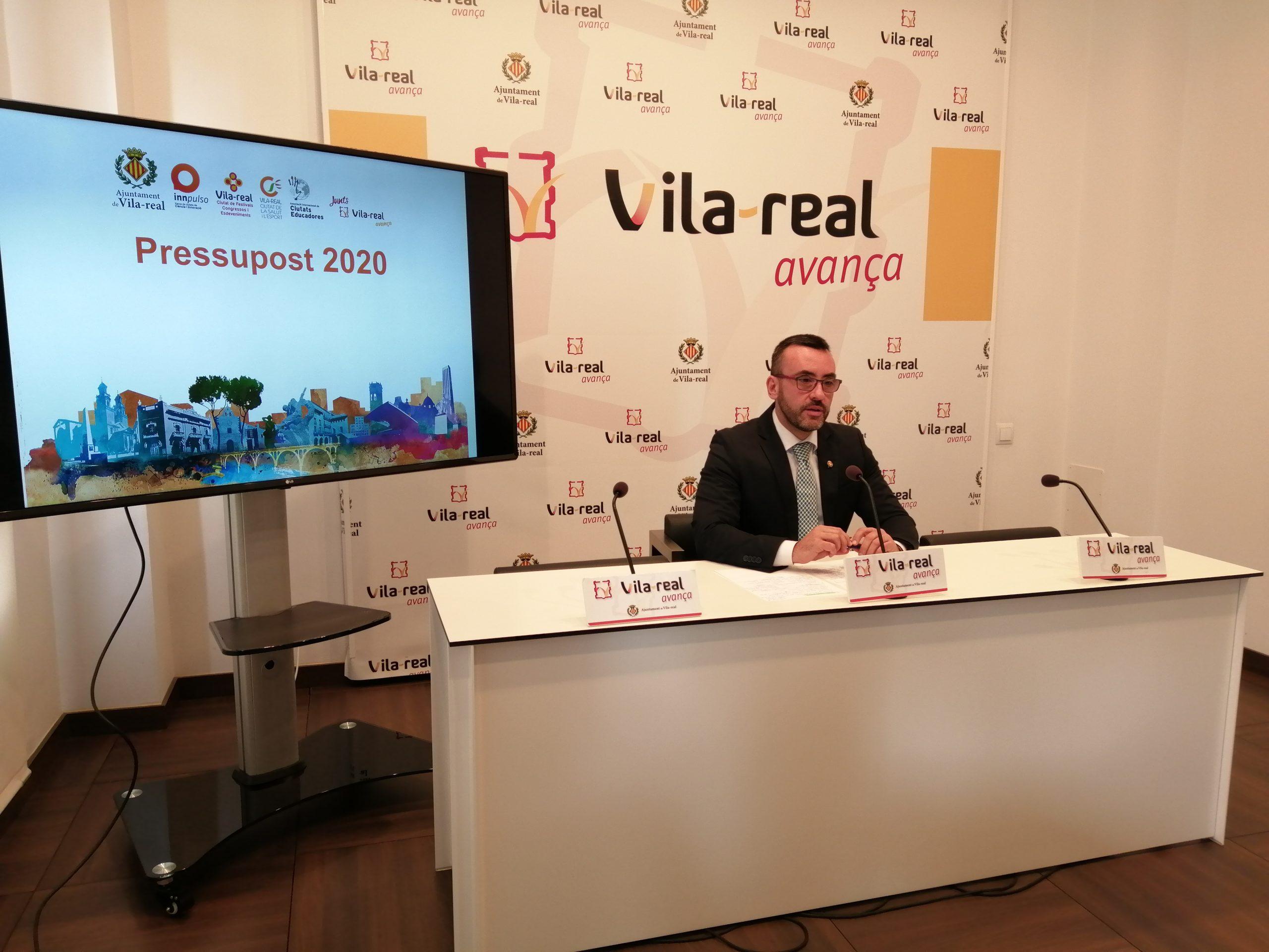 Vila-real tendrá un presupuesto cercano a los 48 millones de euros en 2020