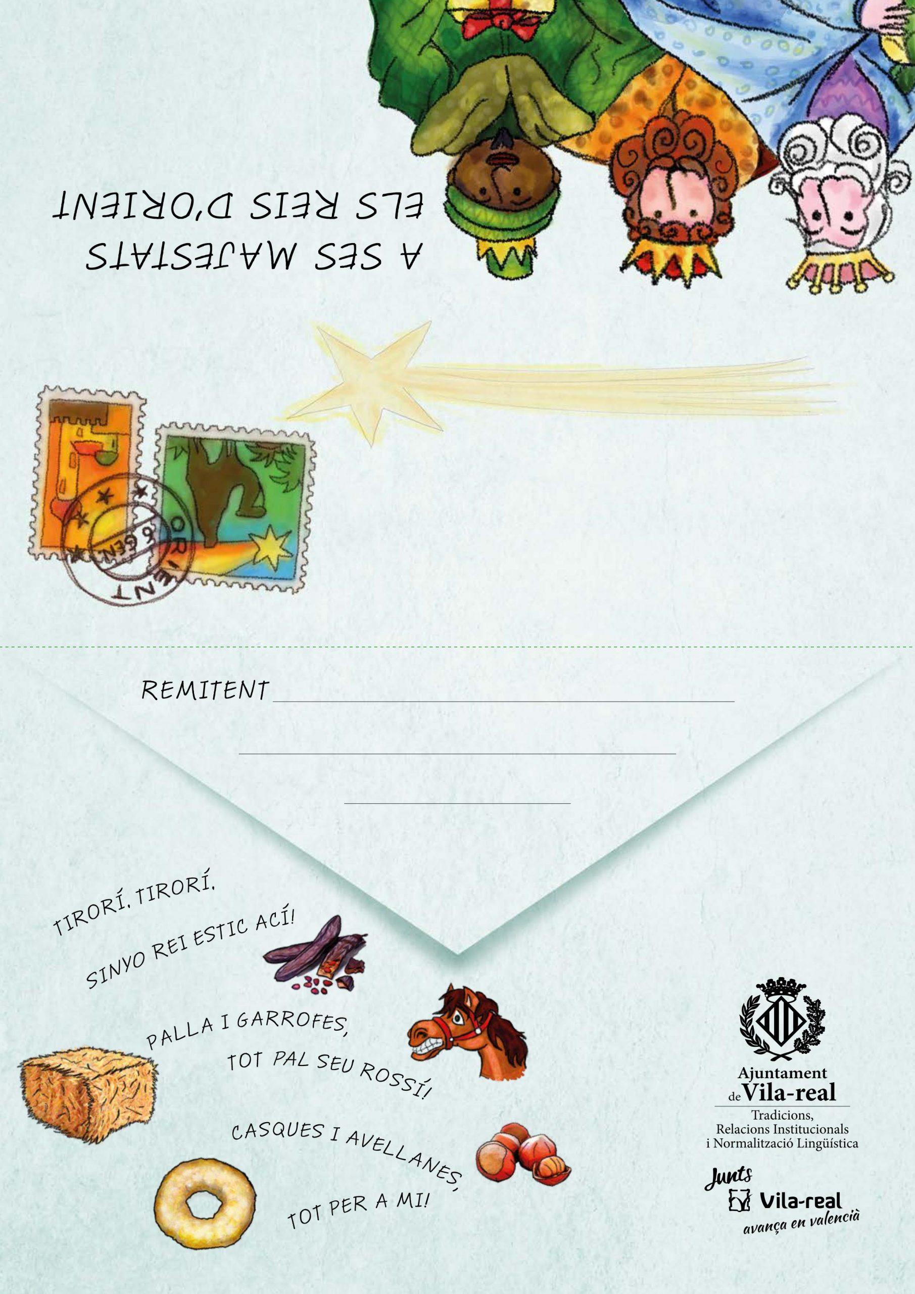 Normalització Lingüística ofrece las cartas a los Reyes Magos en formato digital