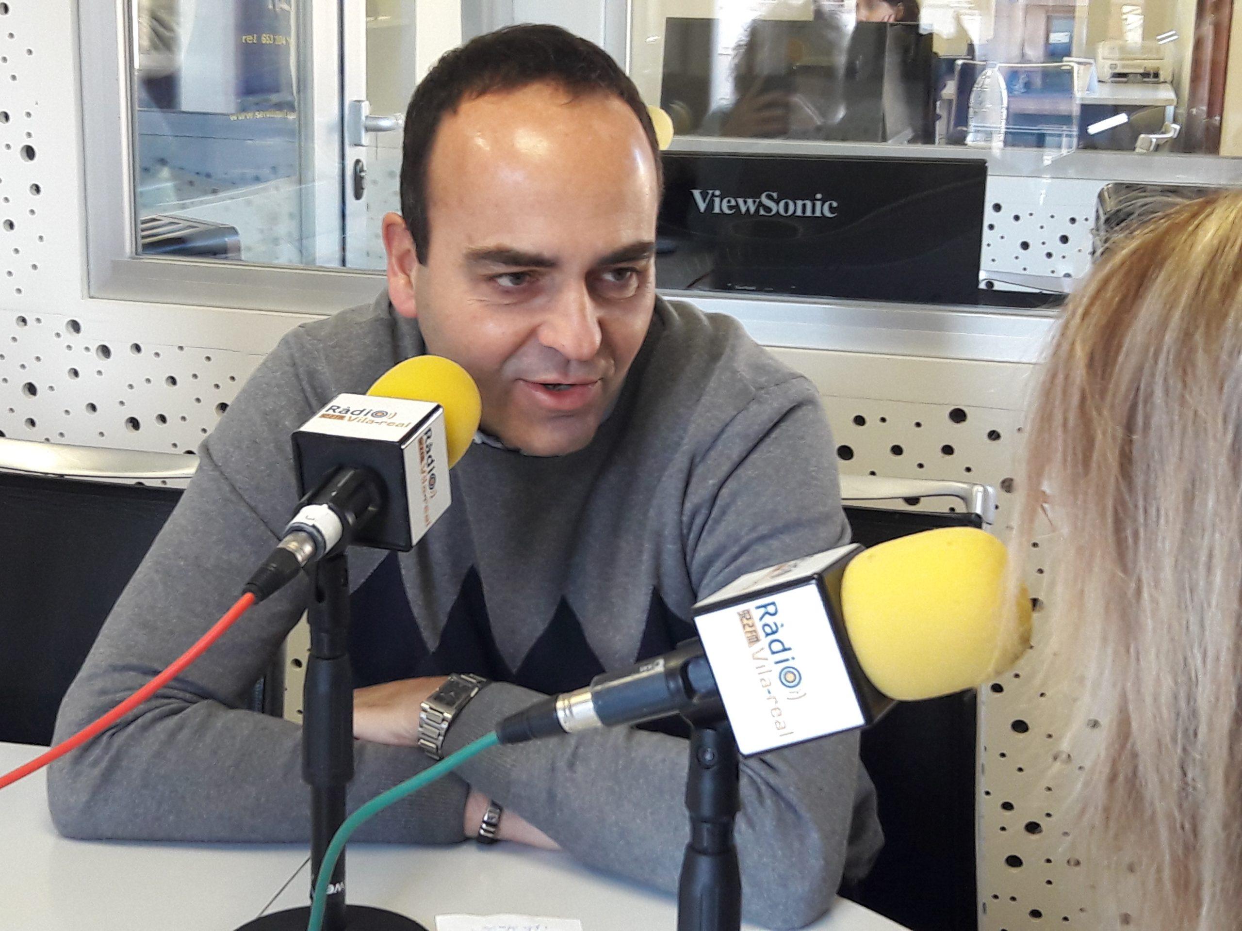 Entrevista al edil en Vila-real y diputado provincial de Ciudadanos, Domingo Vicent