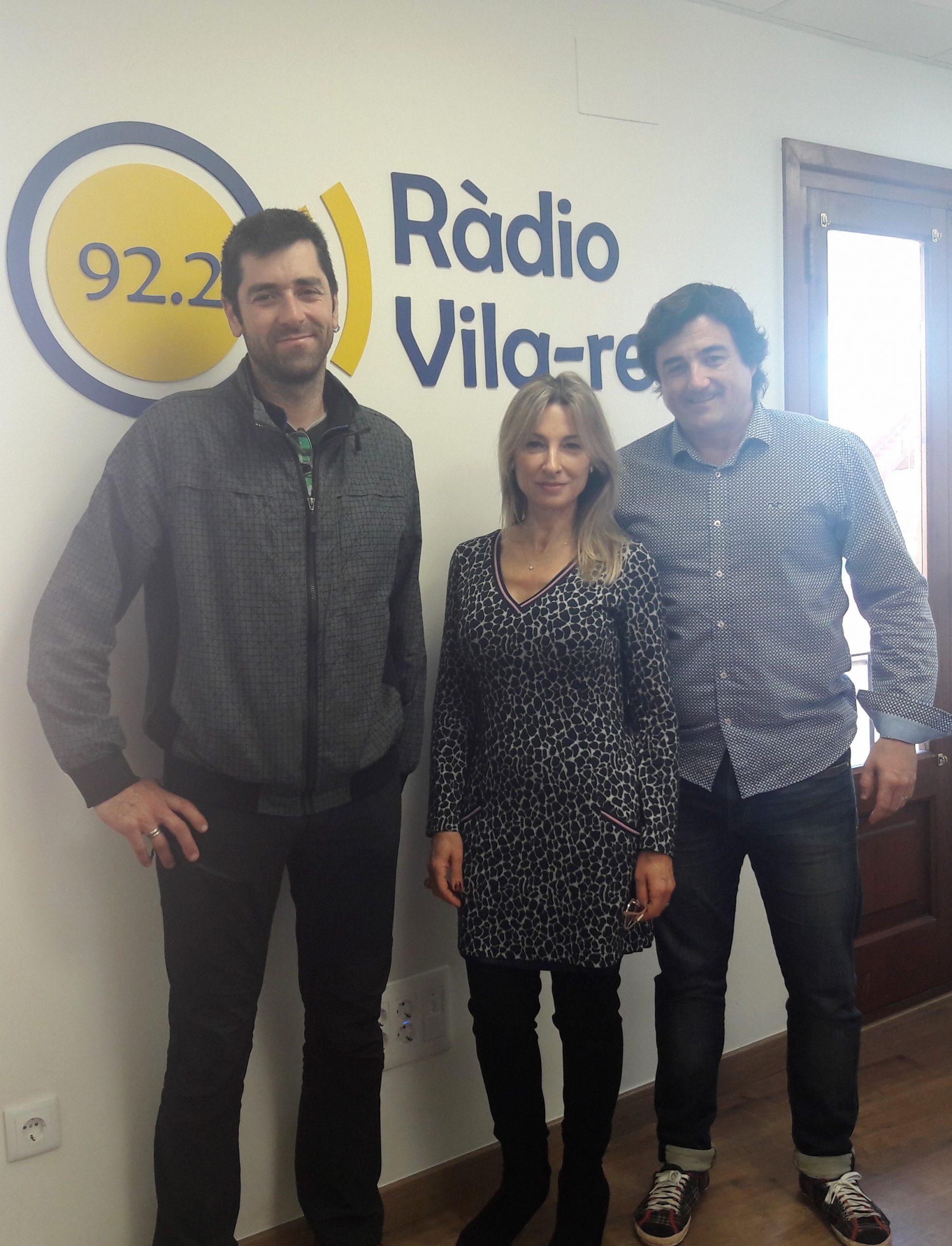 Entrevista al inventor Sergio Sánchez y al alcalde de Borriol, Héctor Ramos