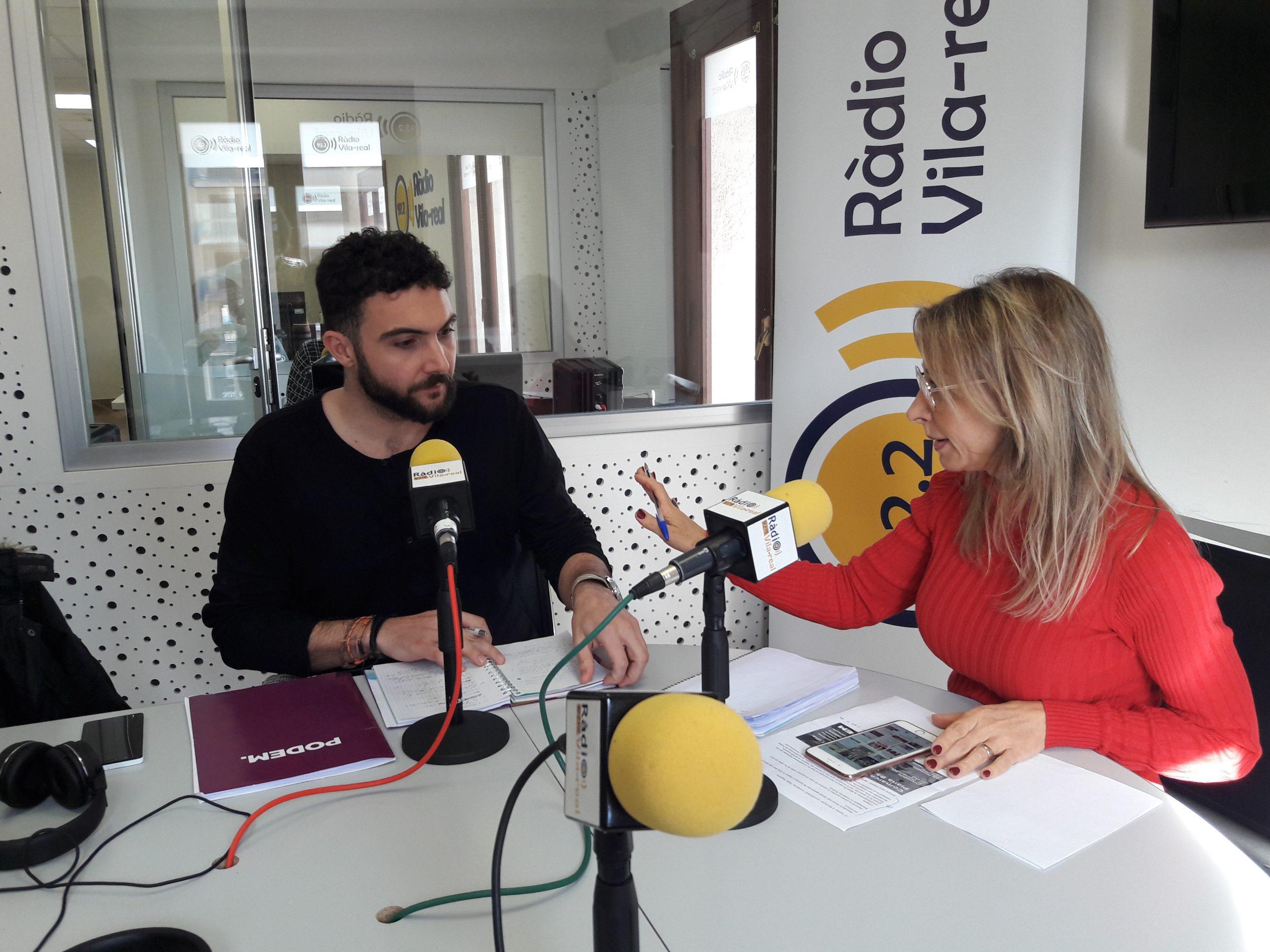 Entrevista al edil en Moncofa y coordinador comarcal de Podem, Rafa Segarra