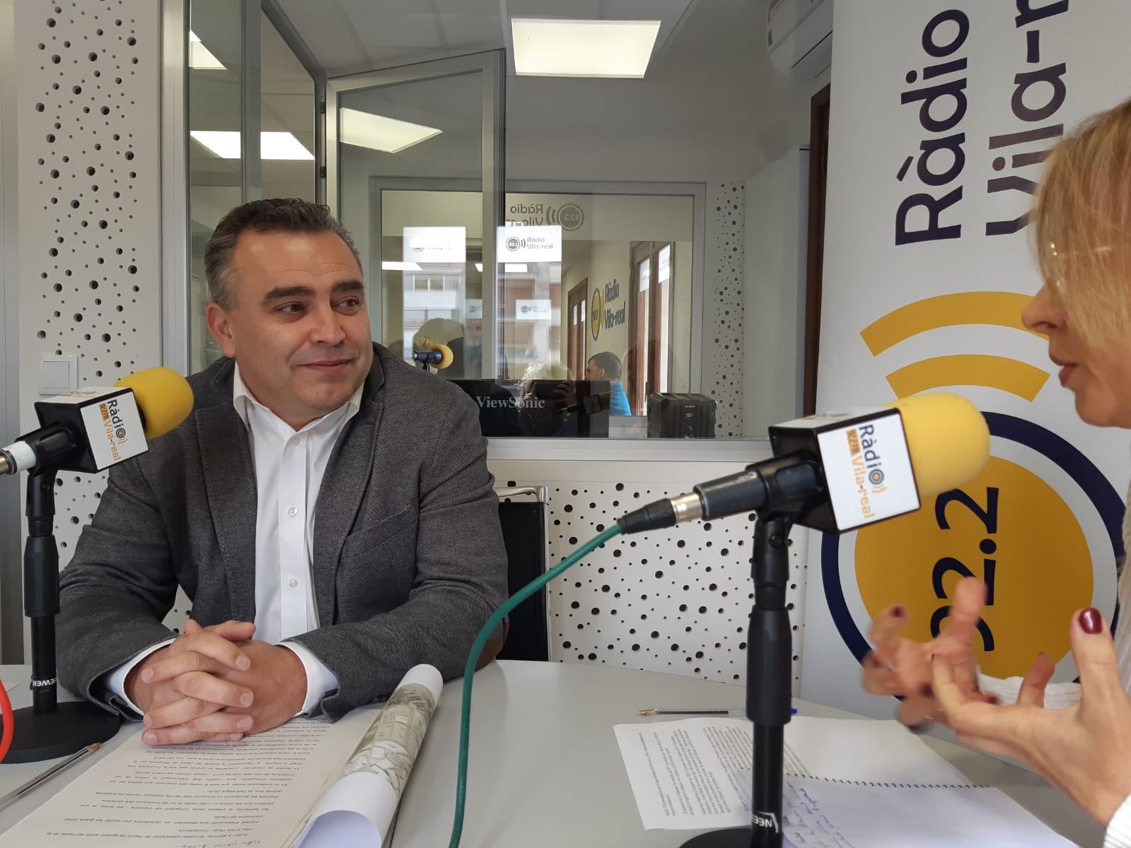 Entrevista a Javier Mollá, regidor de cultura i personal a la localitat d´almassora