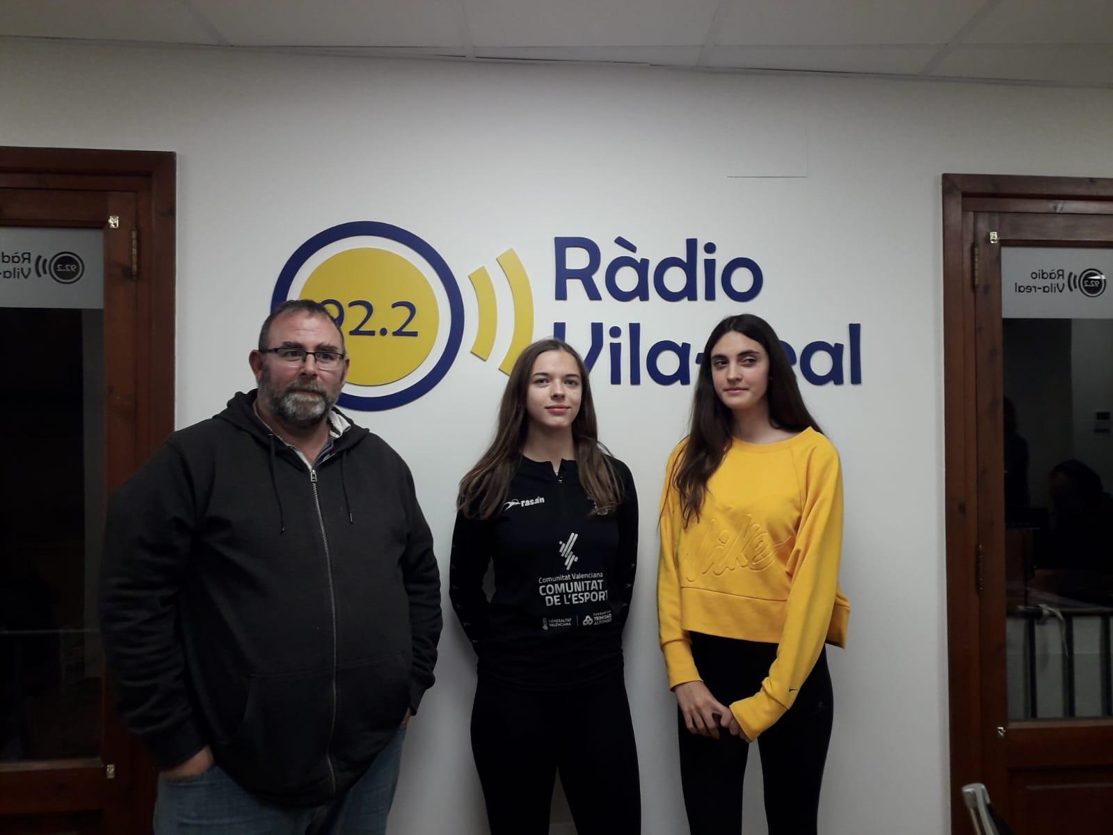 Entrevista a Pau Martínez Sales y Laura Alegre del club atletismo Playas de Castellón
