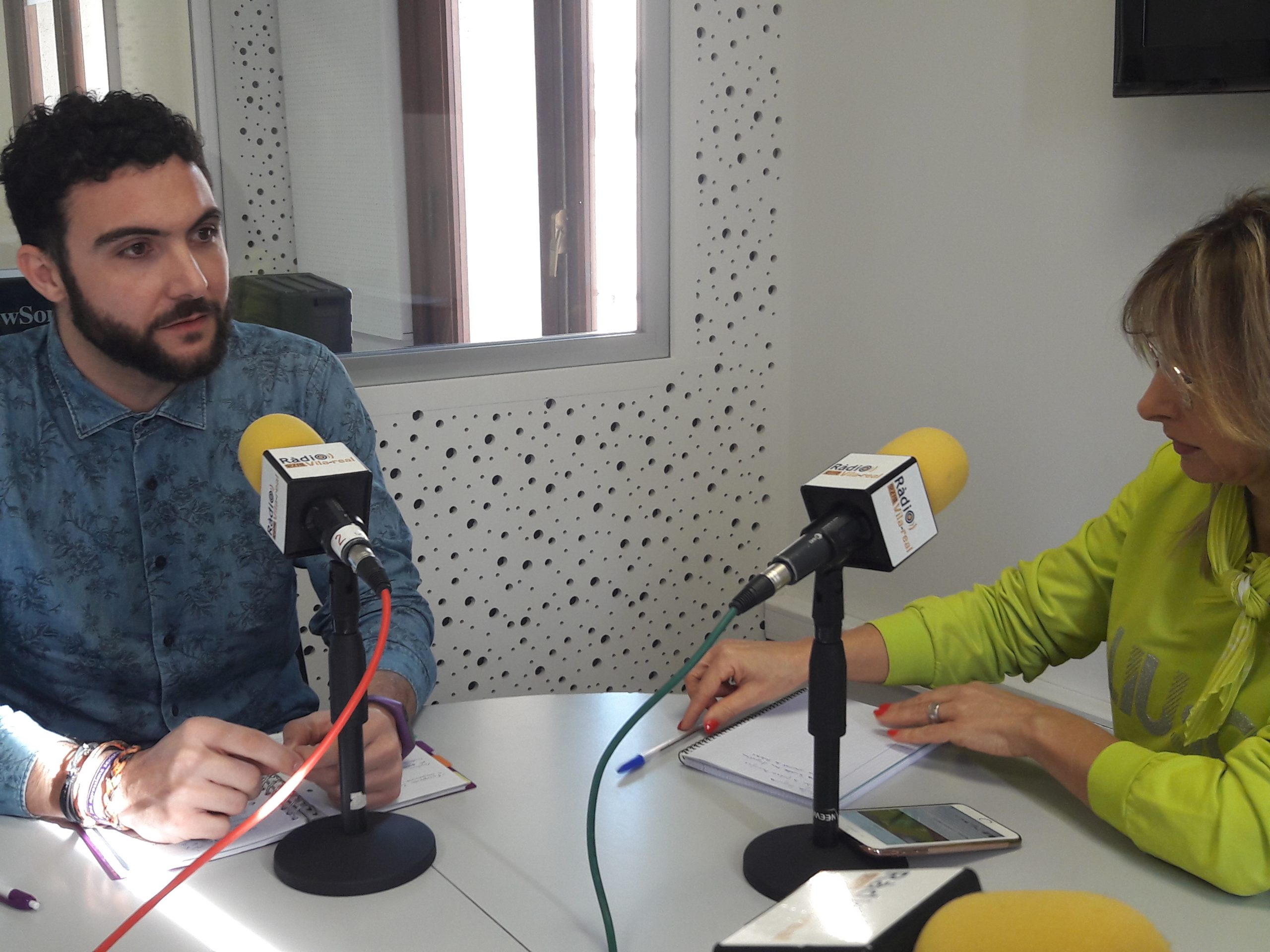 Entrevista al edil de Podem en Moncofa, Rafa Segarra
