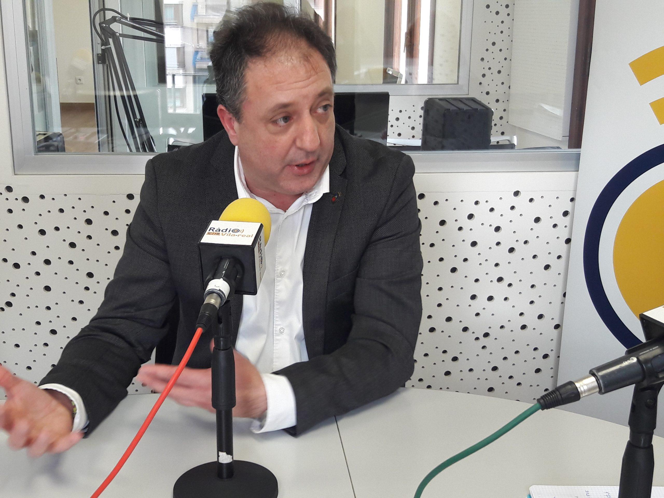Entrevista al diputado provincial y edil de Almassora, Santiago Agustí