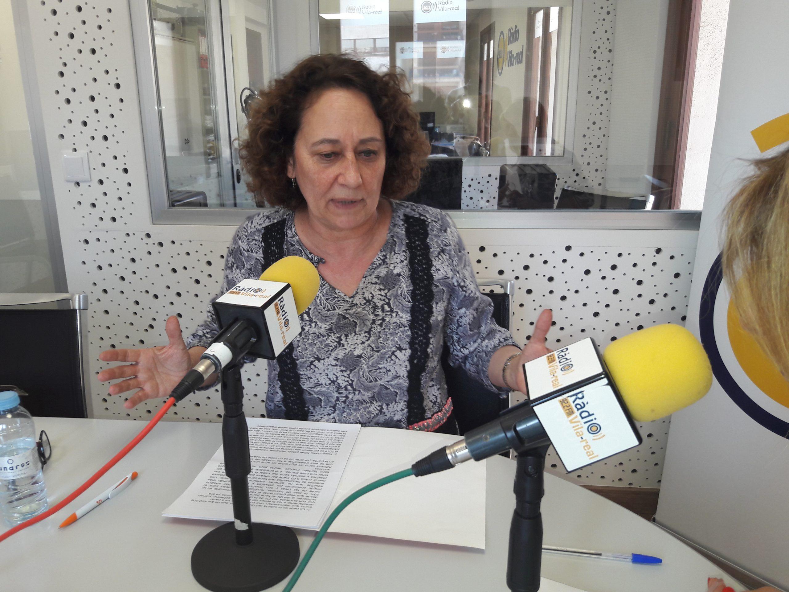 Entrevista a la edil de Ciudadanos en Burriana, María Jesús Sanchís