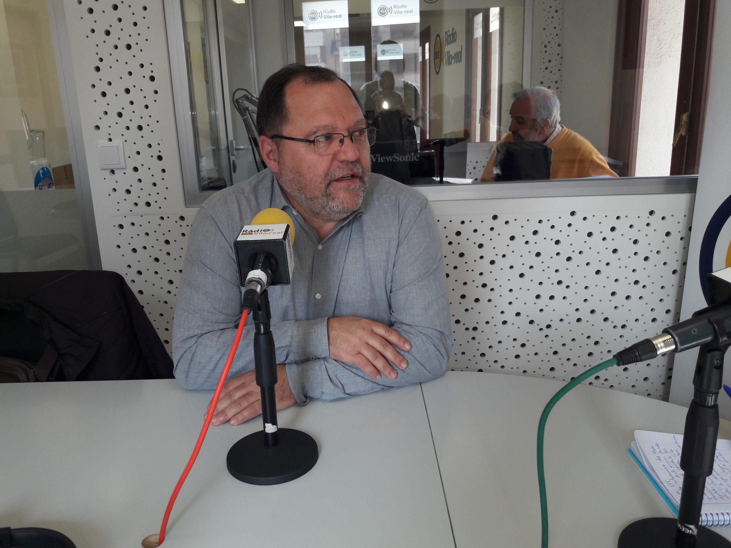 Entrevista al secretario general del PSPV en la ciudad de Castelló y diputado autonómico, Paco Gil