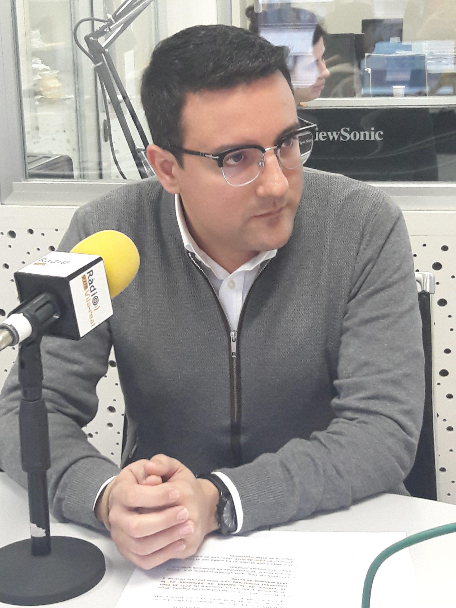 Entrevista al edil del PP en Vila-real, Adrián Casabó