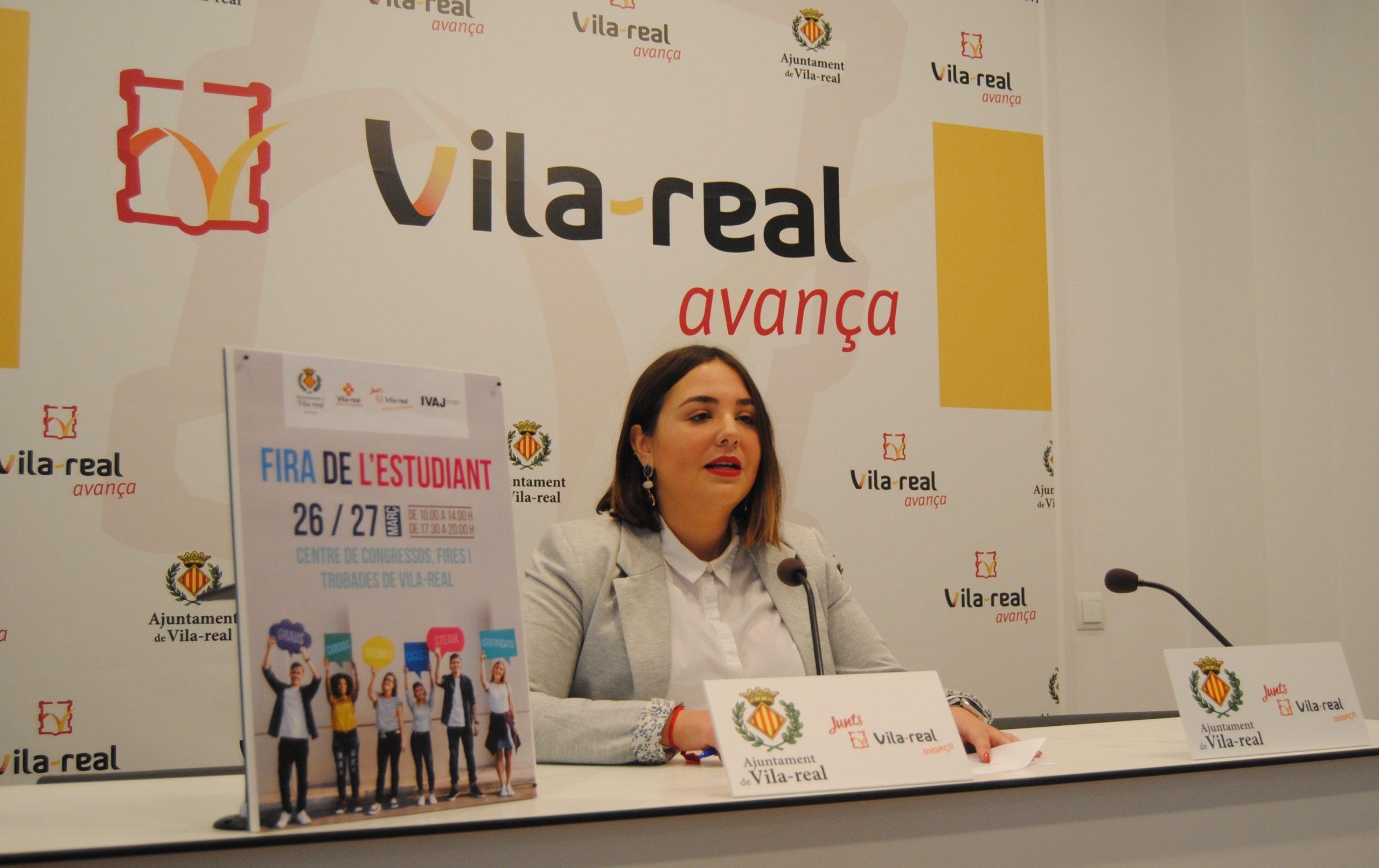 Vila-real ofrecerá opciones formativas e impulsará la inserción laboral de jóvenes en la primera Feria del Estudiante