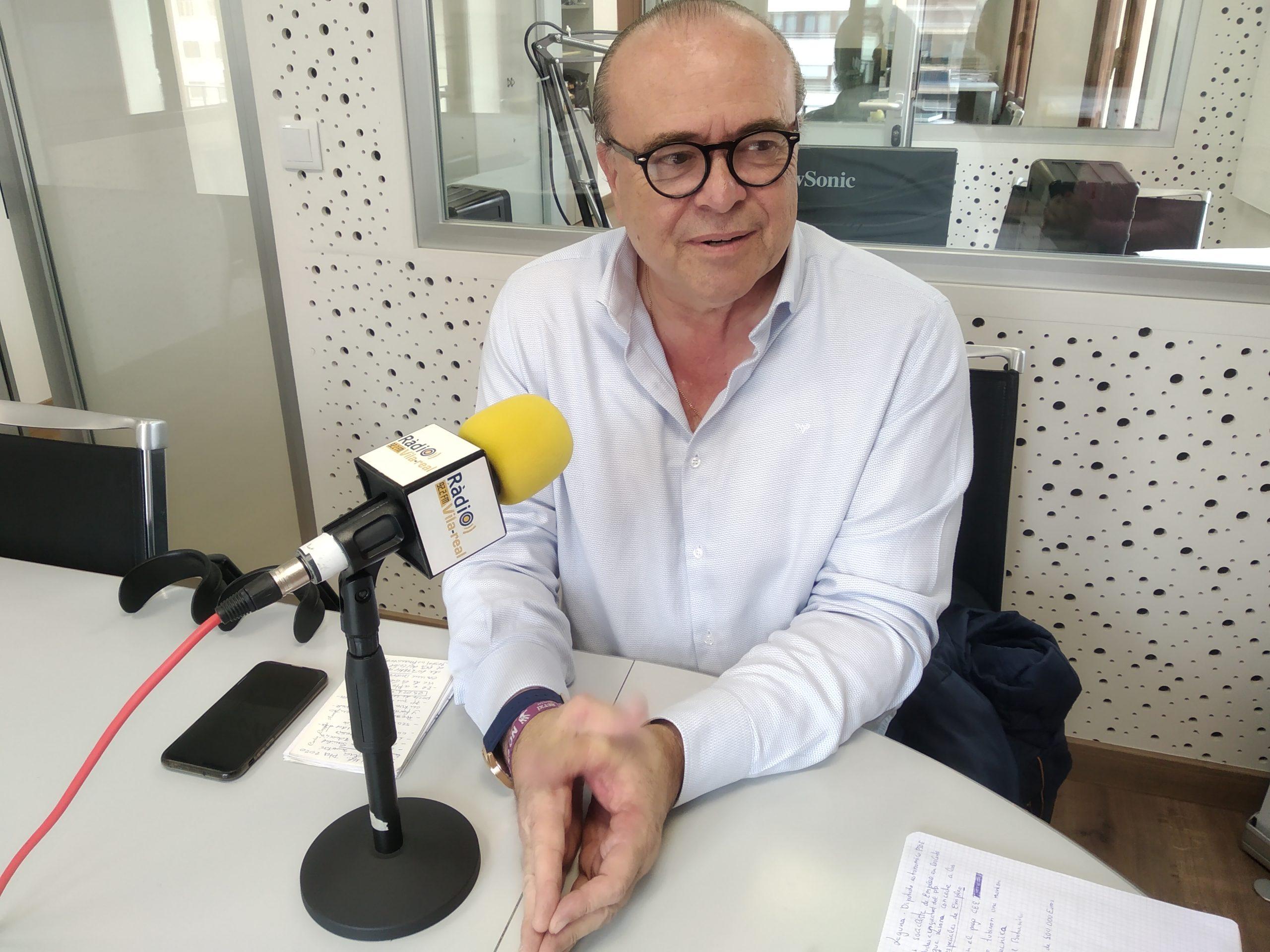 Entrevista al diputado autonómico del PSPV, Carlos Laguna