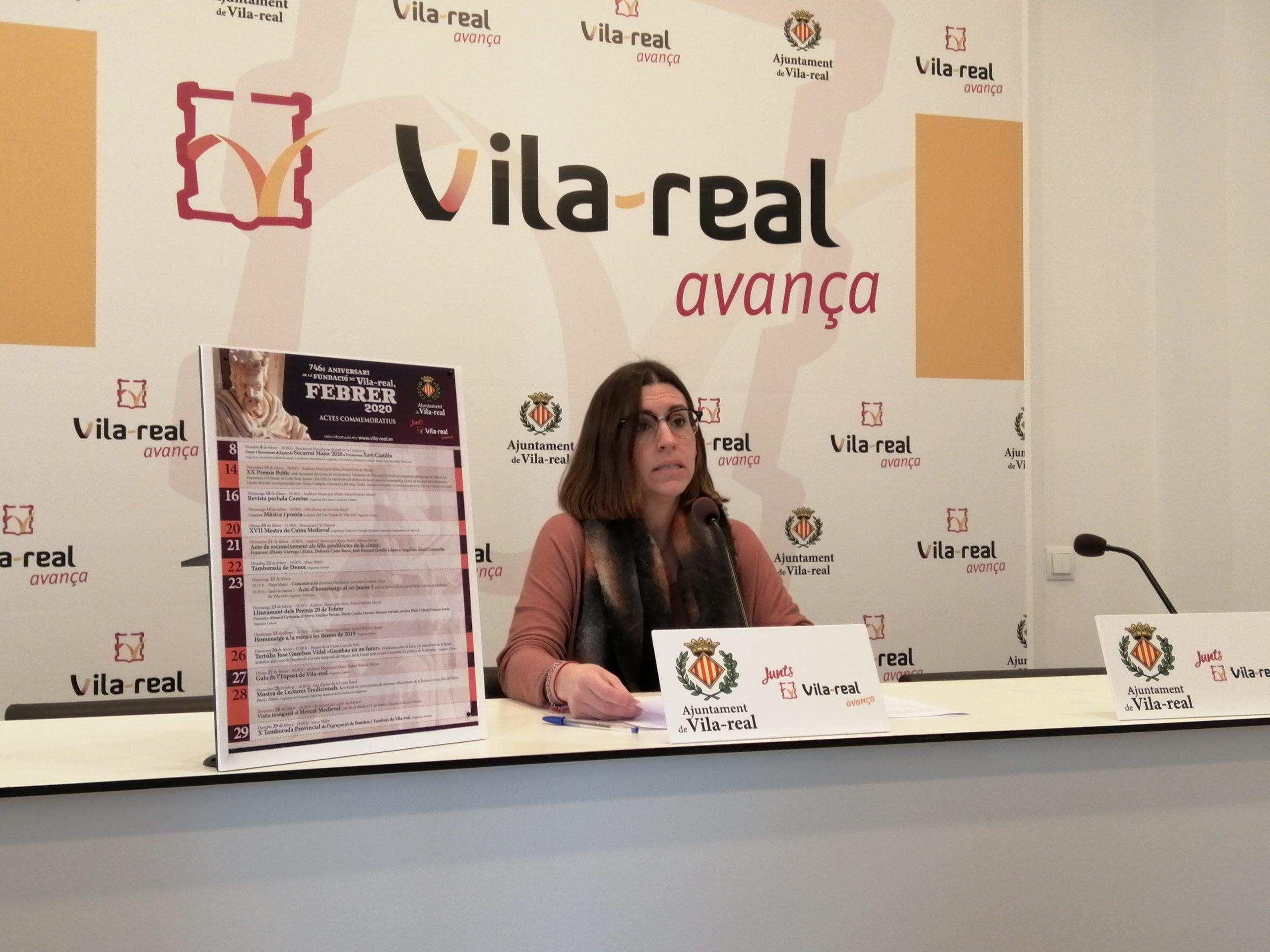 Cultura, tradición y homenaje a personalidades destacadas para celebrar el 746 aniversario de Vila-real