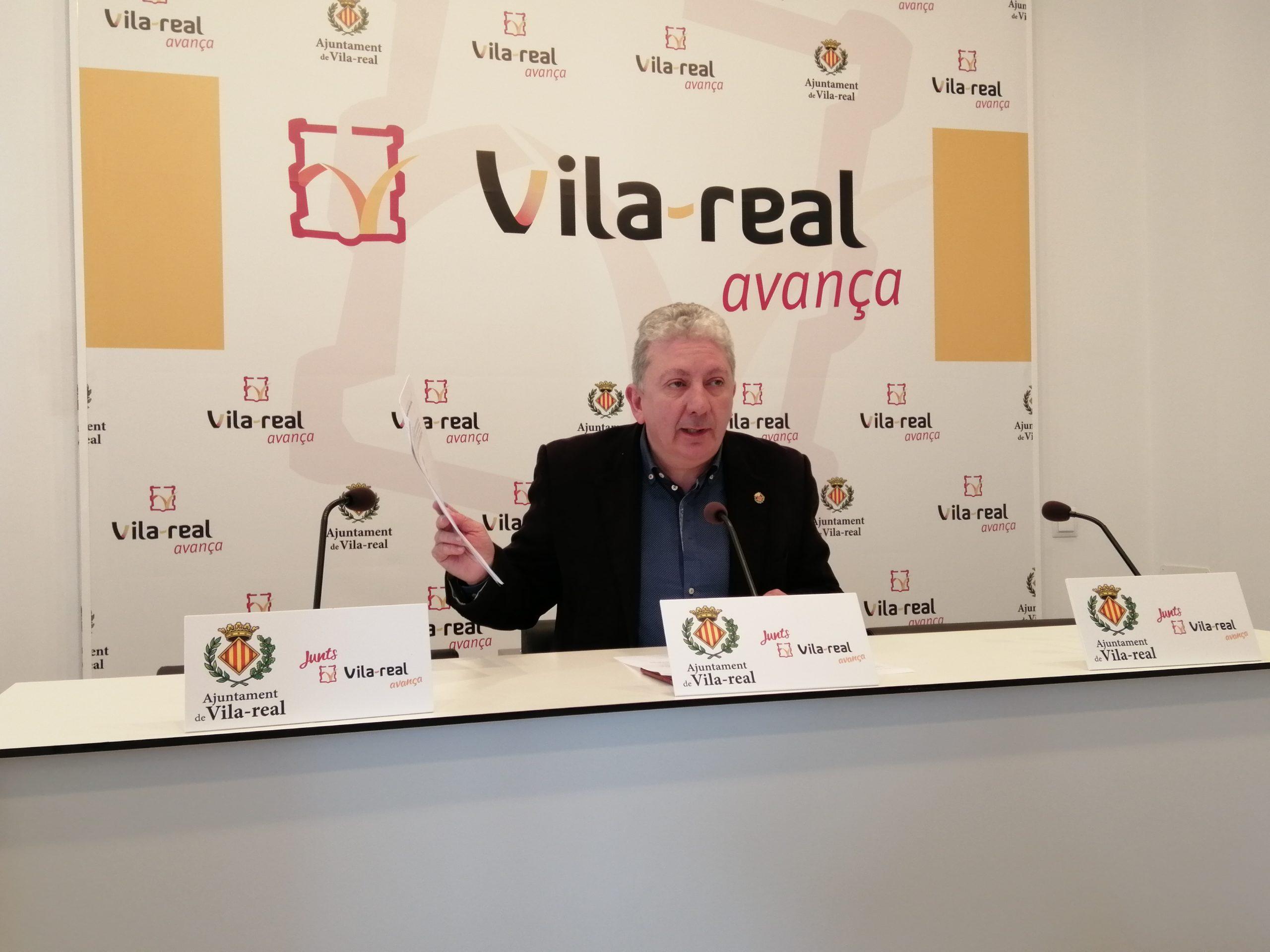 """El gobierno de Vila-real estudiará acciones legales ante la """"difamación continua"""" de Compromís contra concejales del ejecutivo local"""