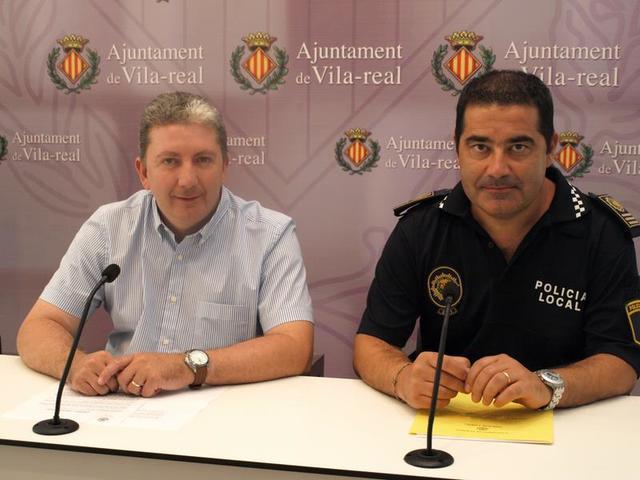 Entrevista al Intendente de la Policía Local de Vila-real, Ramón Martínez