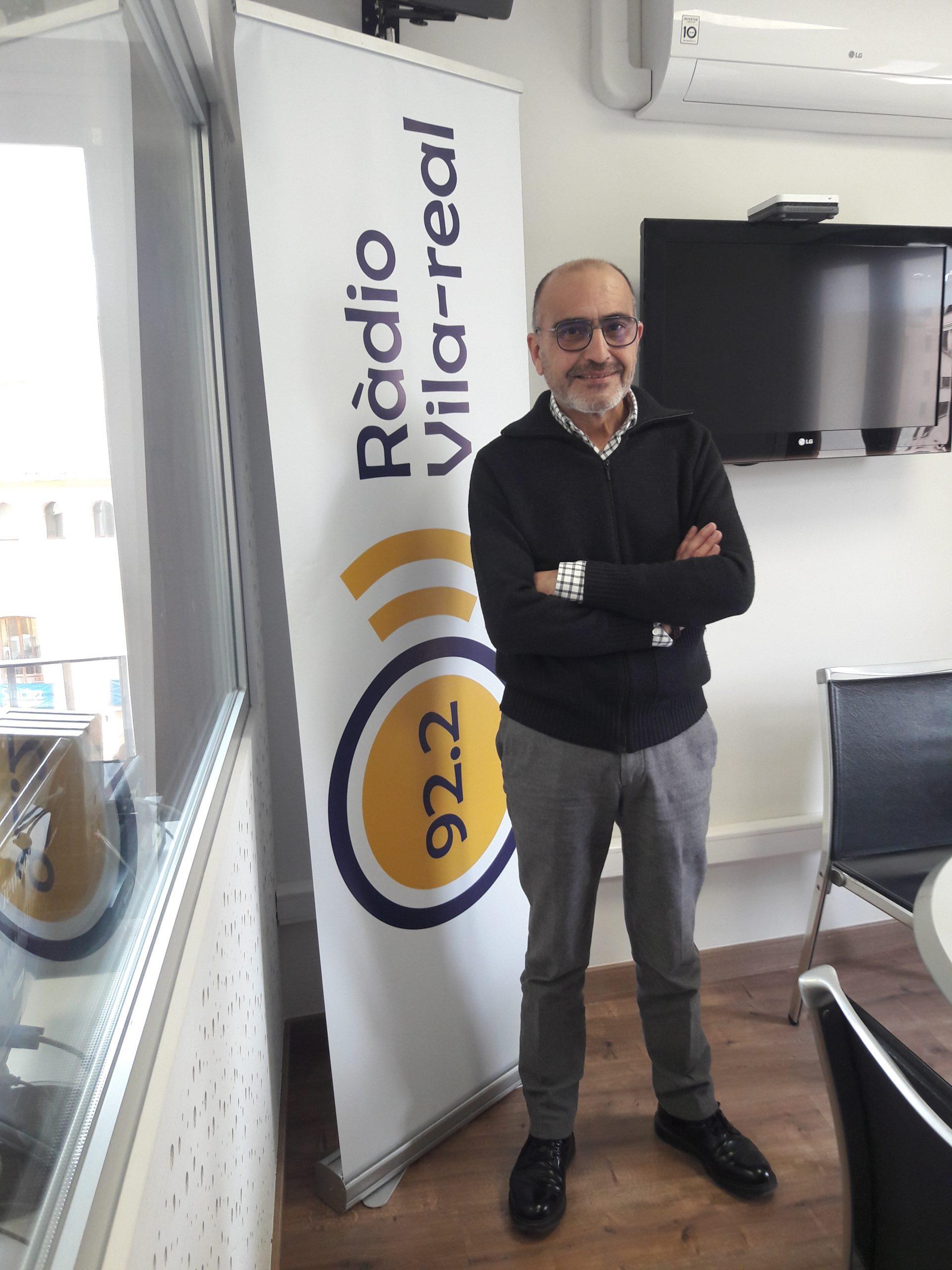 Entrevista al President de Fundació Caixa Rural Vila-real, Enric Portales