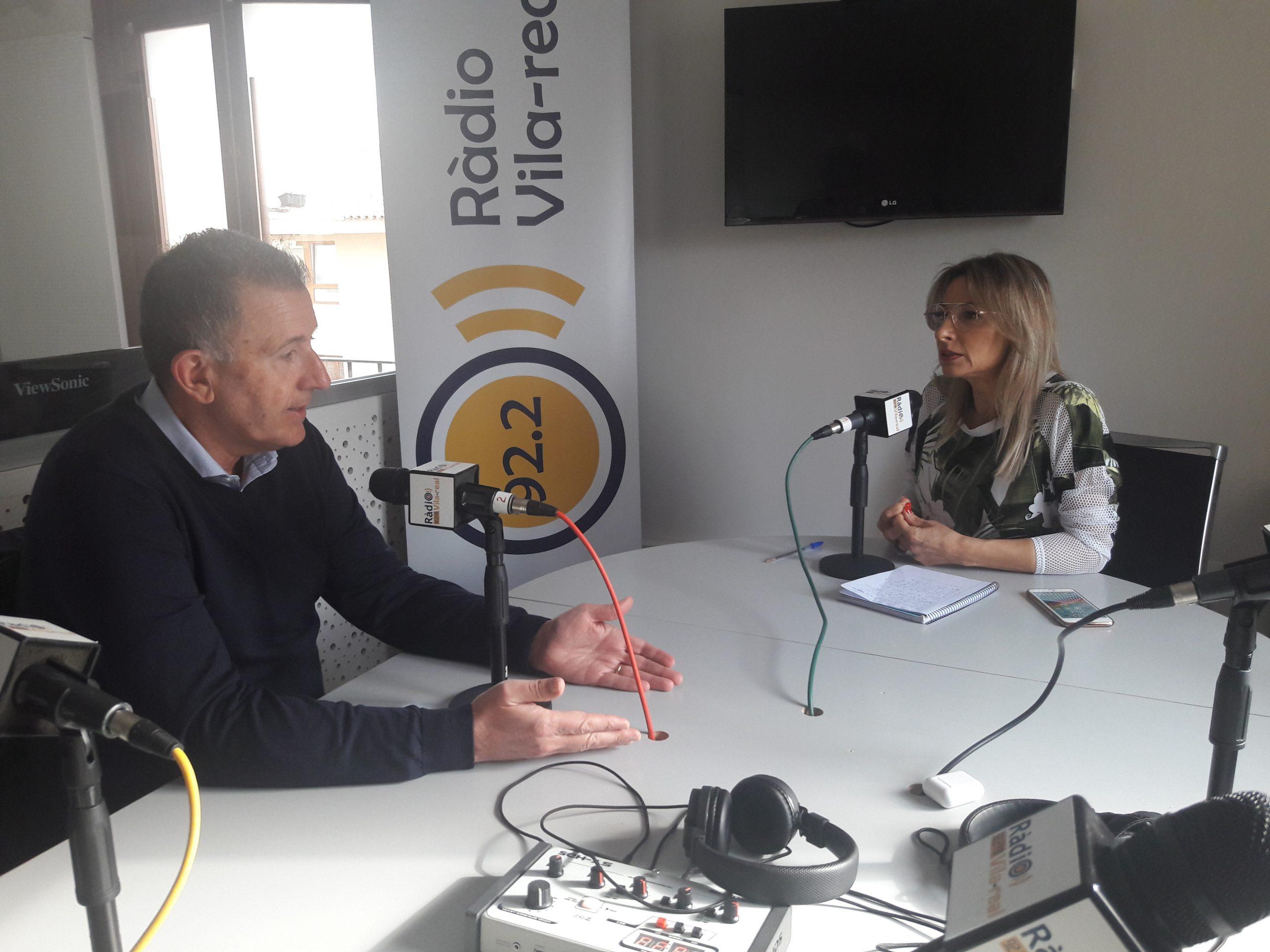 Entrevista al portavoz del PP en la diputación y concejal del Ayuntamiento de Castellón, Vicent Sales