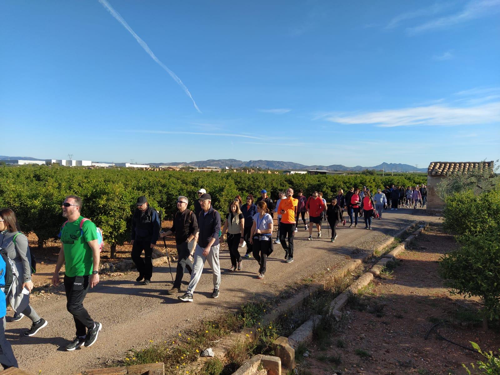 Más de 300 personas participan en la XII Volta al Terme organizada de Fundació Caixa Rural Vila-real