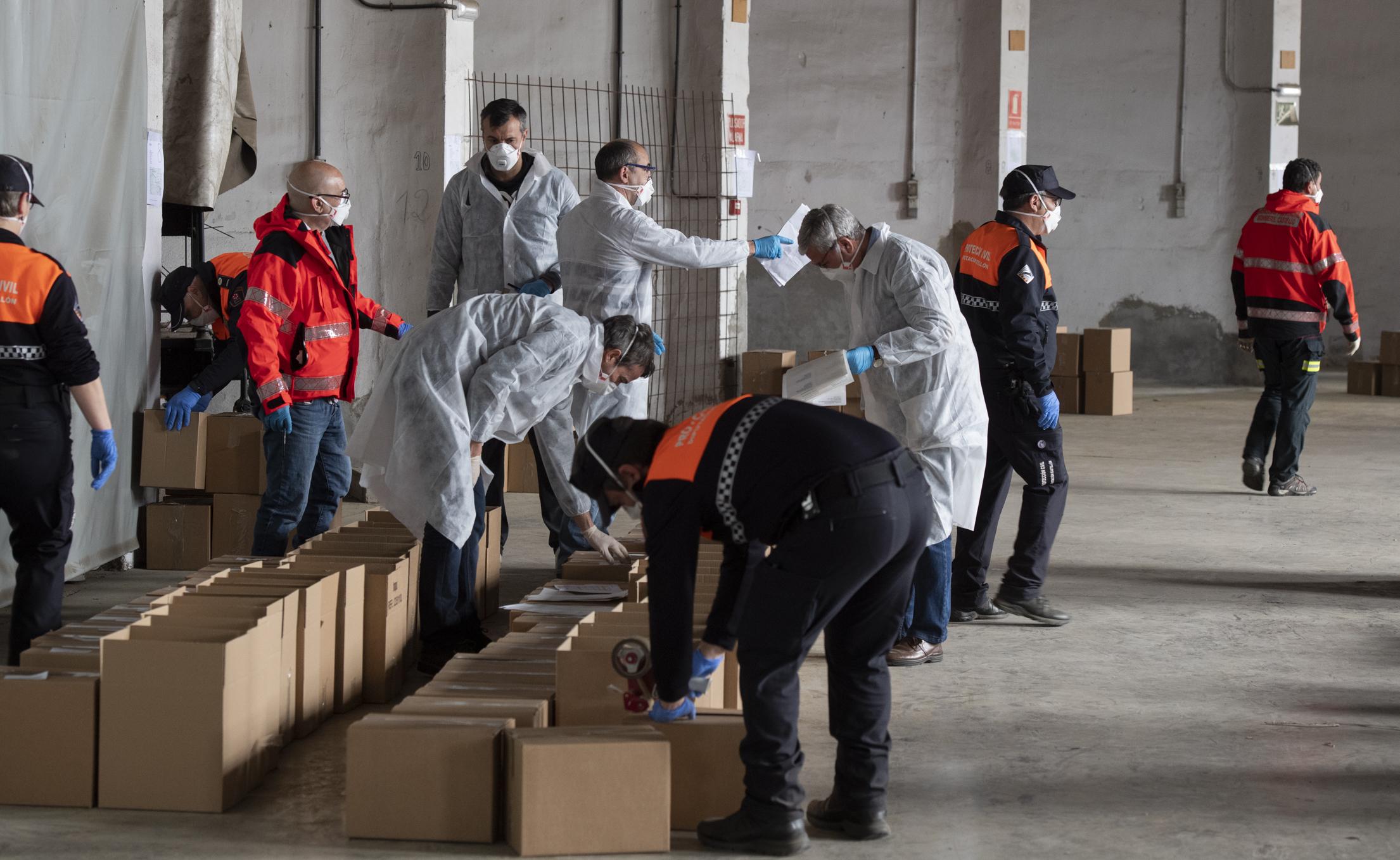 El Plan Responde de Cruz Roja financiado por la Diputación beneficia en mayo a 132 personas vulnerables de Castellón
