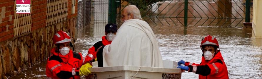 El Consorcio Provincial de Bomberos de Castellón (CPBC), preparado para activar de forma inmediata todos los recursos necesarios ante el temporal de lluvia y mar