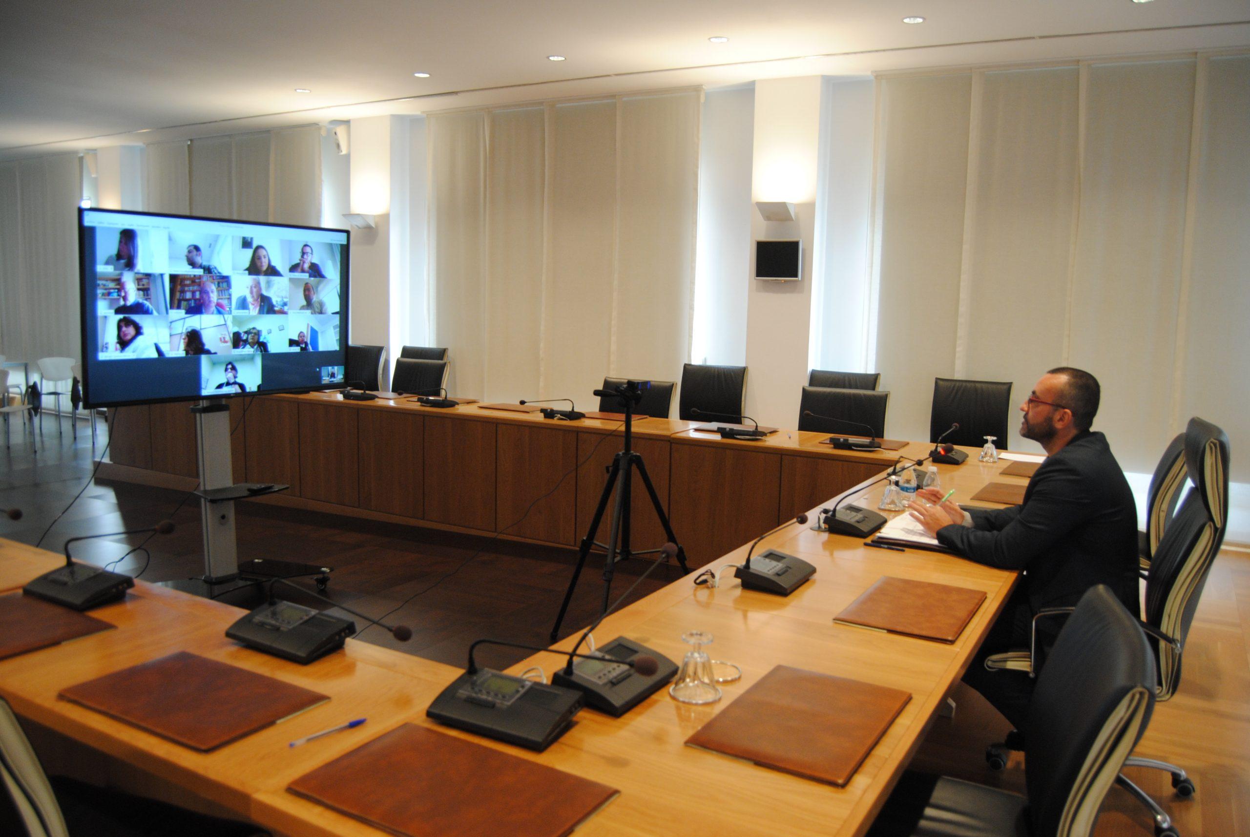La alianza tecnológica con Telefónica permite al Ayuntamiento de Vila-real disponer de forma gratuita de una plataforma para videoconferencias