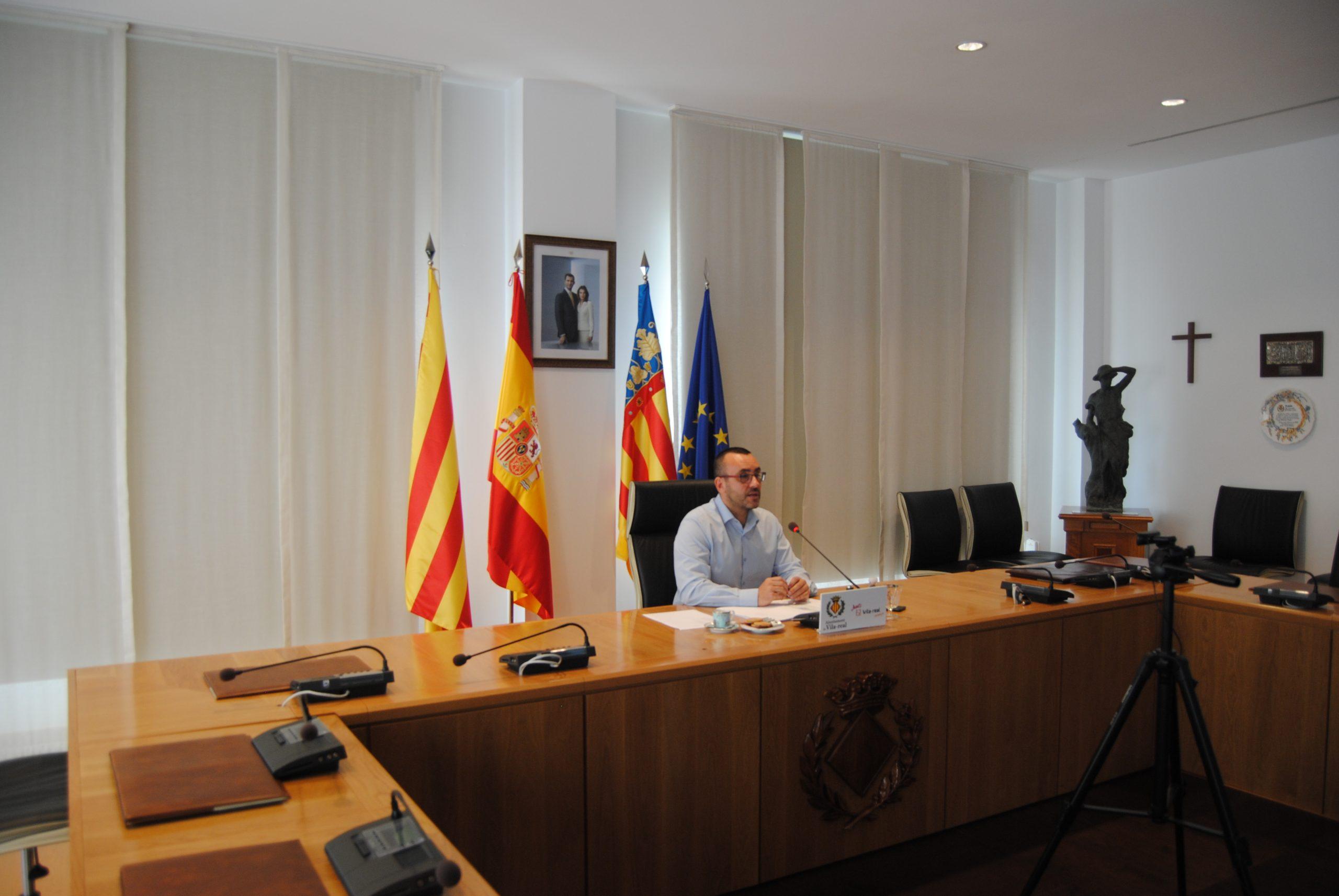 Rueda de prensa completa del alcalde de Vila-real, José Benlloch