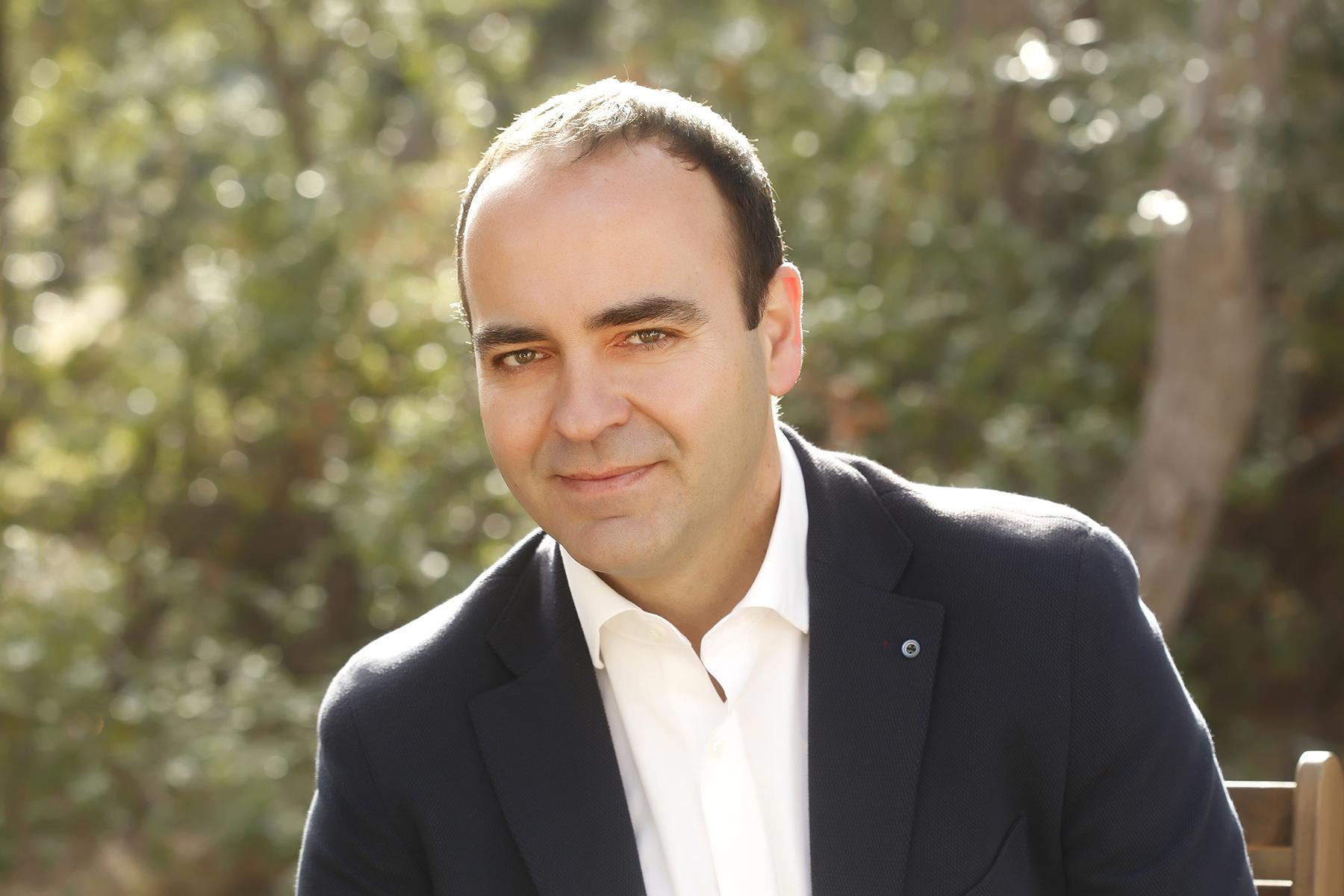 Entrevista al portavoz de Ciudadanos y diputado provincial, Domingo Vicent