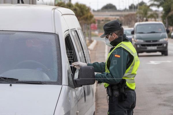 La Guardia Civil ha detenido a una persona por un delito de robo con violencia y lesiones y otro de daños en Nules y Moncófar