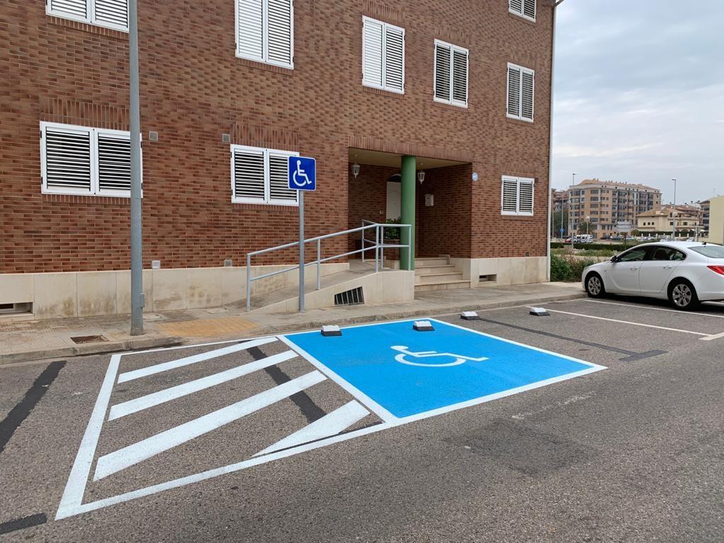 El área de Movilidad completa la reordenación de accesos al parking de la avenida Cardenal Tarancón a petición de los vecinos