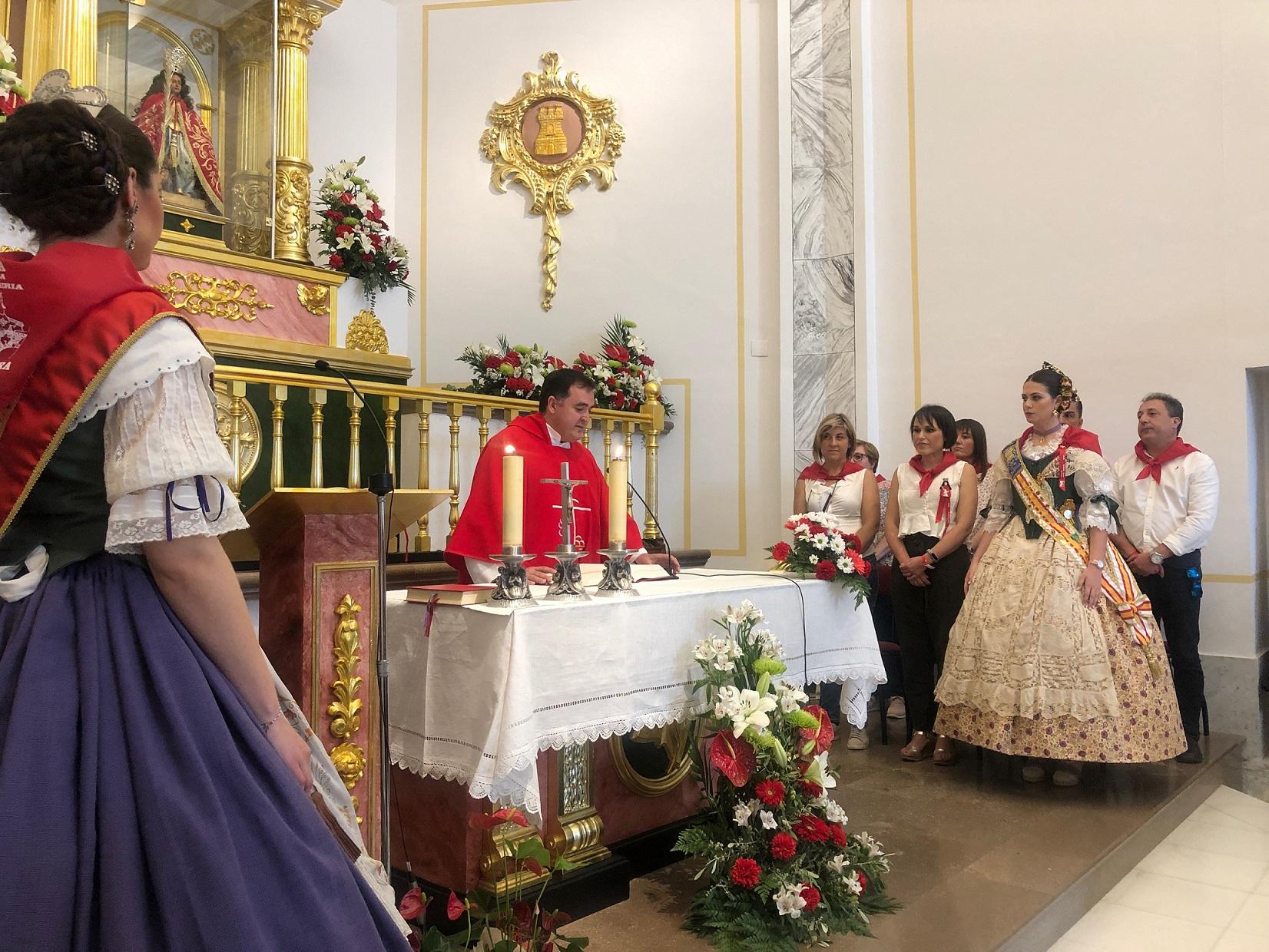 Almassora traslada a Santa Quitèria a la Natividad