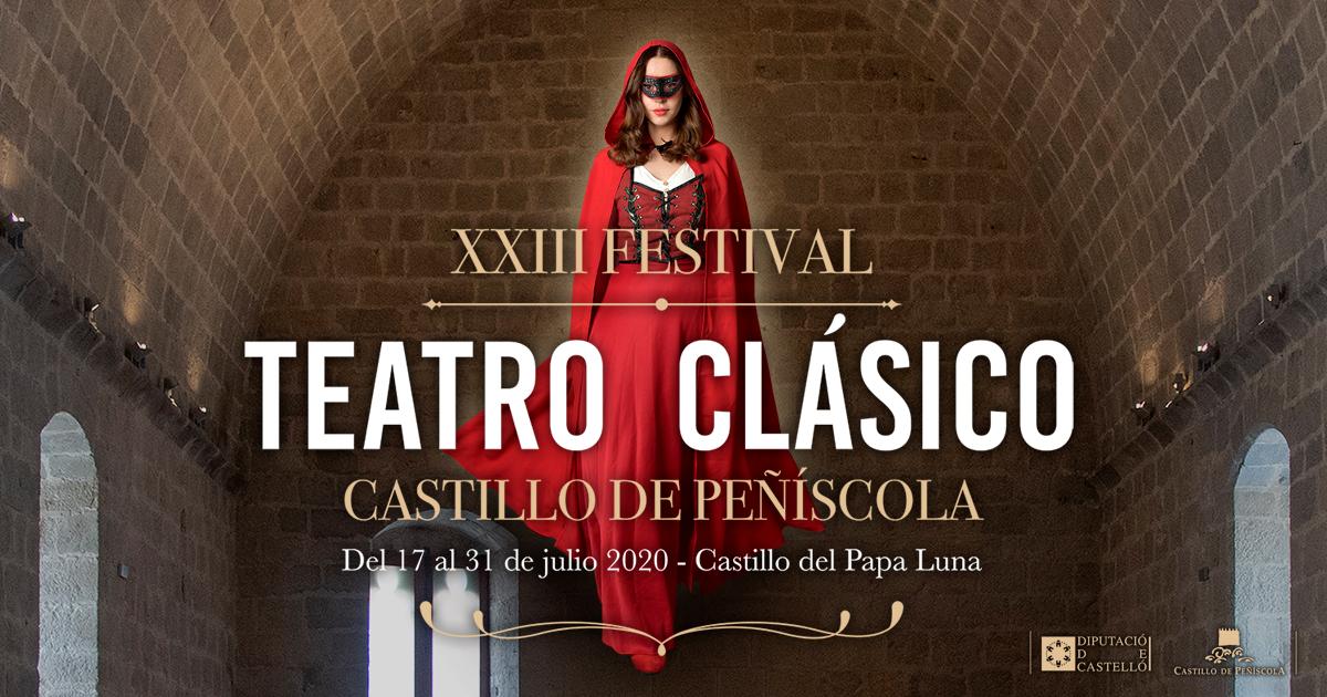 """Ruth Sanz destaca el """"lleno absoluto"""" en las siete funciones de un Festival de Teatro Clásico de Peñíscola """"que ha demostrado que la cultura es segura"""""""