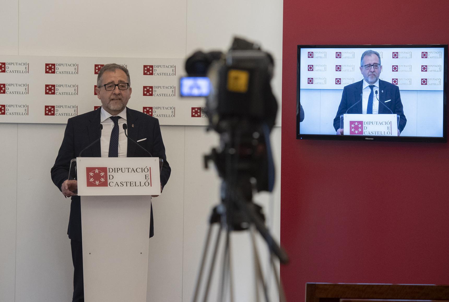 Martí reafirma la apuesta de la Diputación por la cerámica artística con el patrocinio del Concurso Internacional de l'Alcora