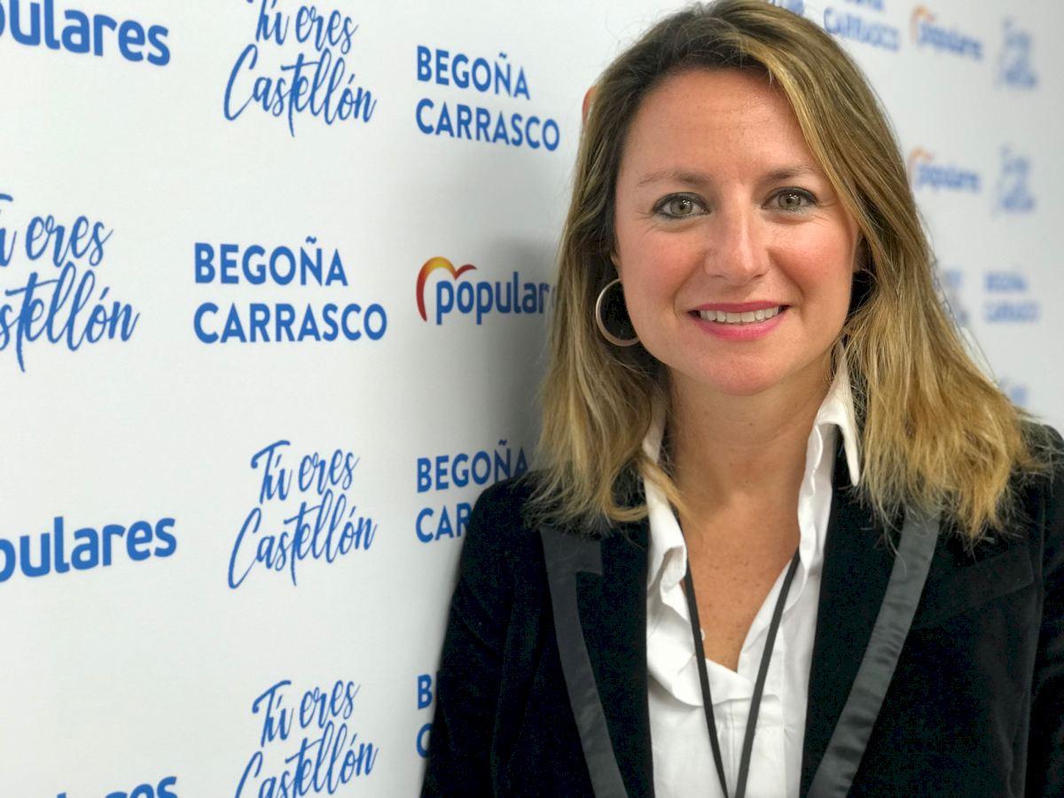 Entrevista a la portavoz del PP de Castellón, Begoña Carrasco