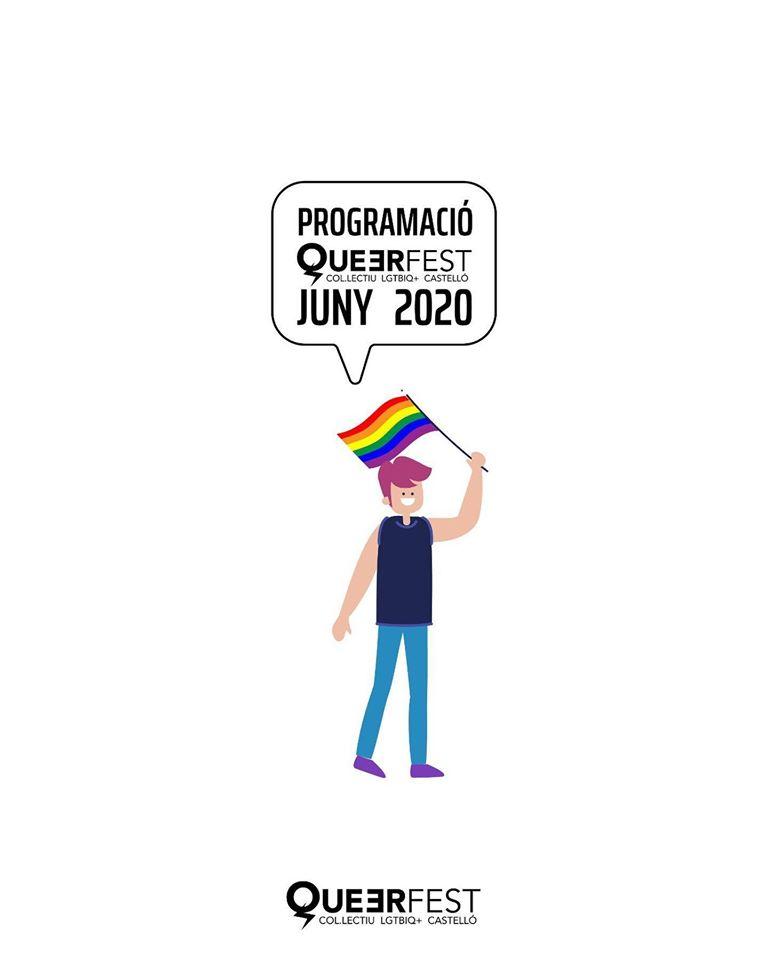 Entrevista al presidente de Queerfest de Castelló, José Bellés