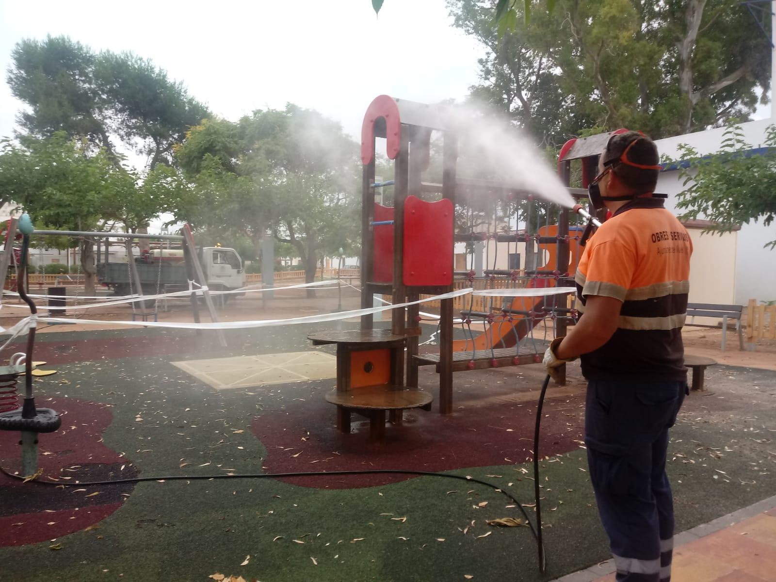 Nules reabre parques y espacios de ocio cerrados en el estado de alarma
