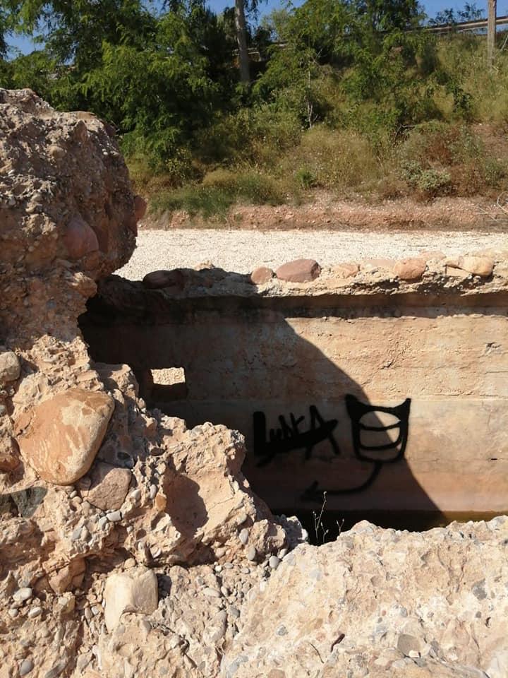 Investigan un acto vandálico en los bunkers de Nules