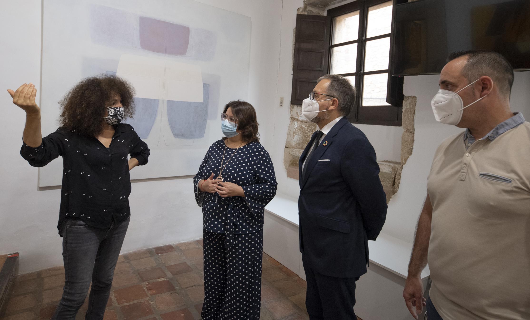 La Diputación de Castellón renueva la estructura del Museo de Arte Contemporáneo de Vilafamés afectada por un proyectil de la Guerra Civil